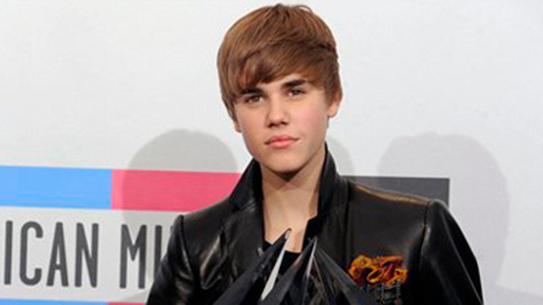 Bieber has his eyes set on Best New Artist Grammy