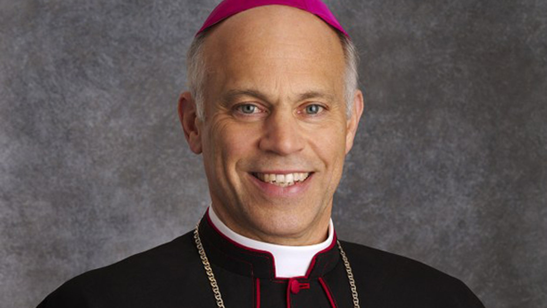 Bishop Salvatore Cordileone of the Roman Catholic Diocese of Oakland, seen in this photo on the diocese's website, was charged with drunken driving in San Diego.