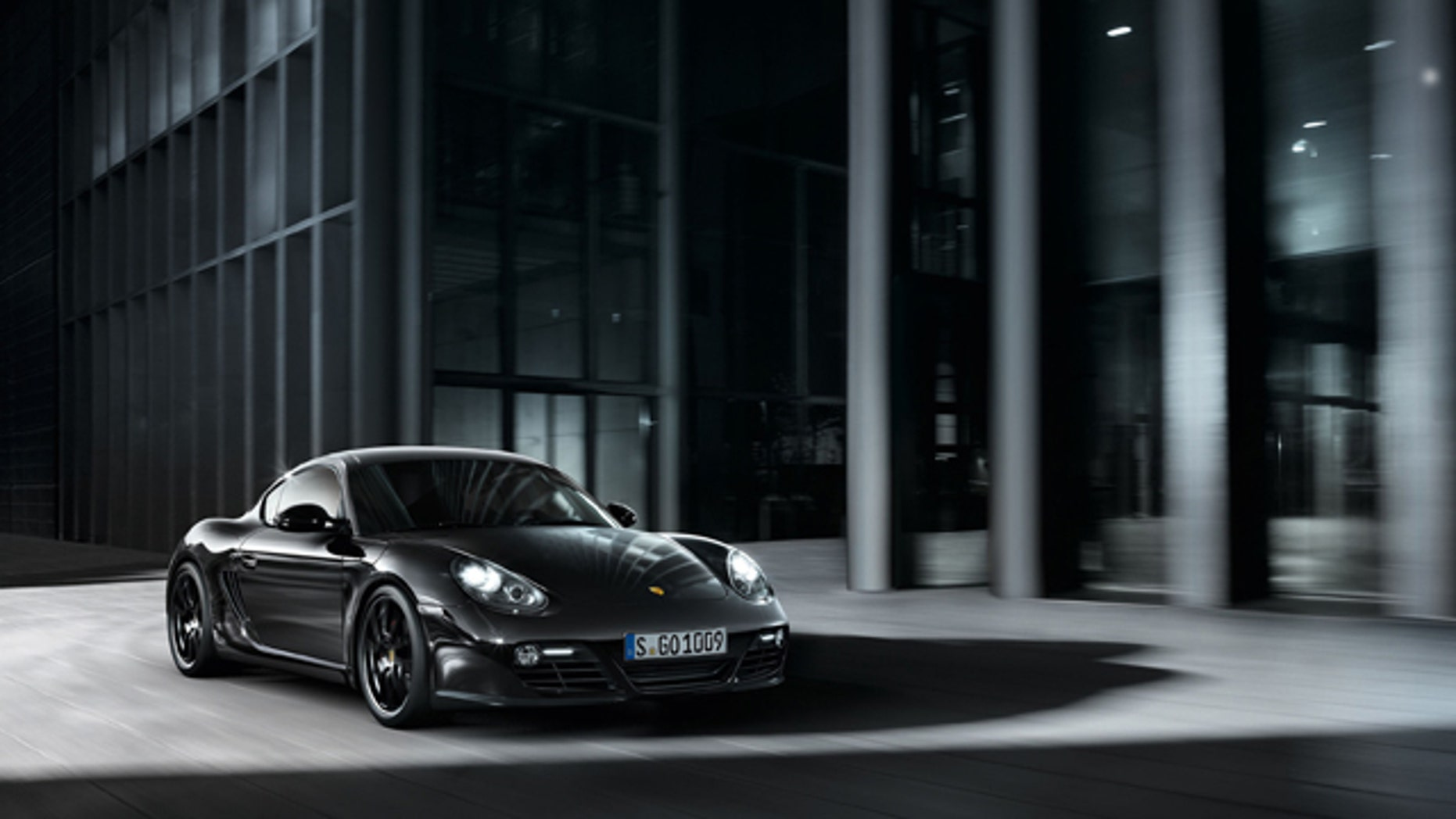 2012 Porsche Cayman S Black Edition.