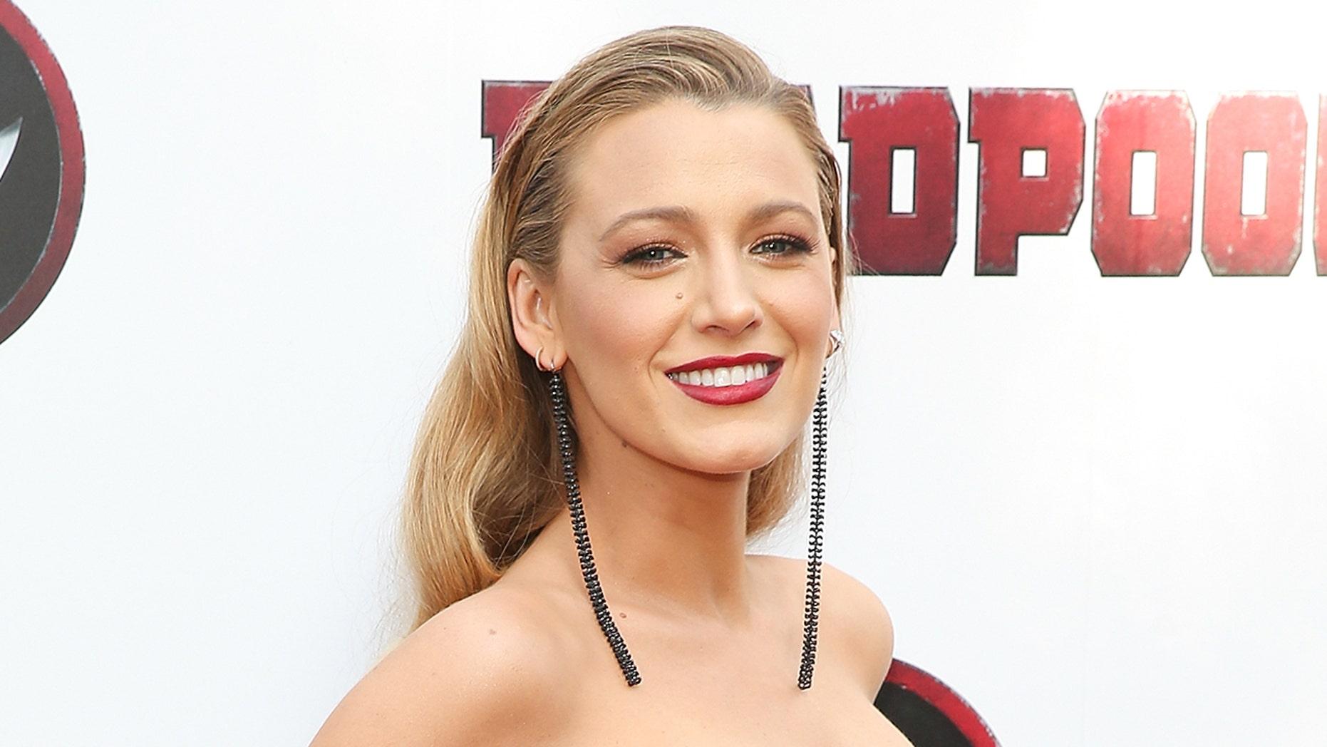 Actress Blake Lively.