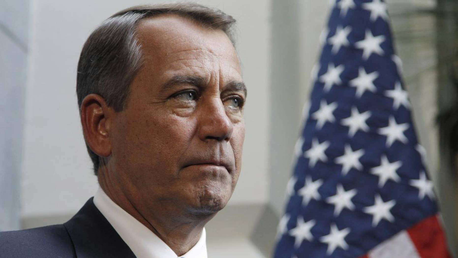 House Speaker John Boehner, R-Ohio. (AP Photo/Alex Brandon)