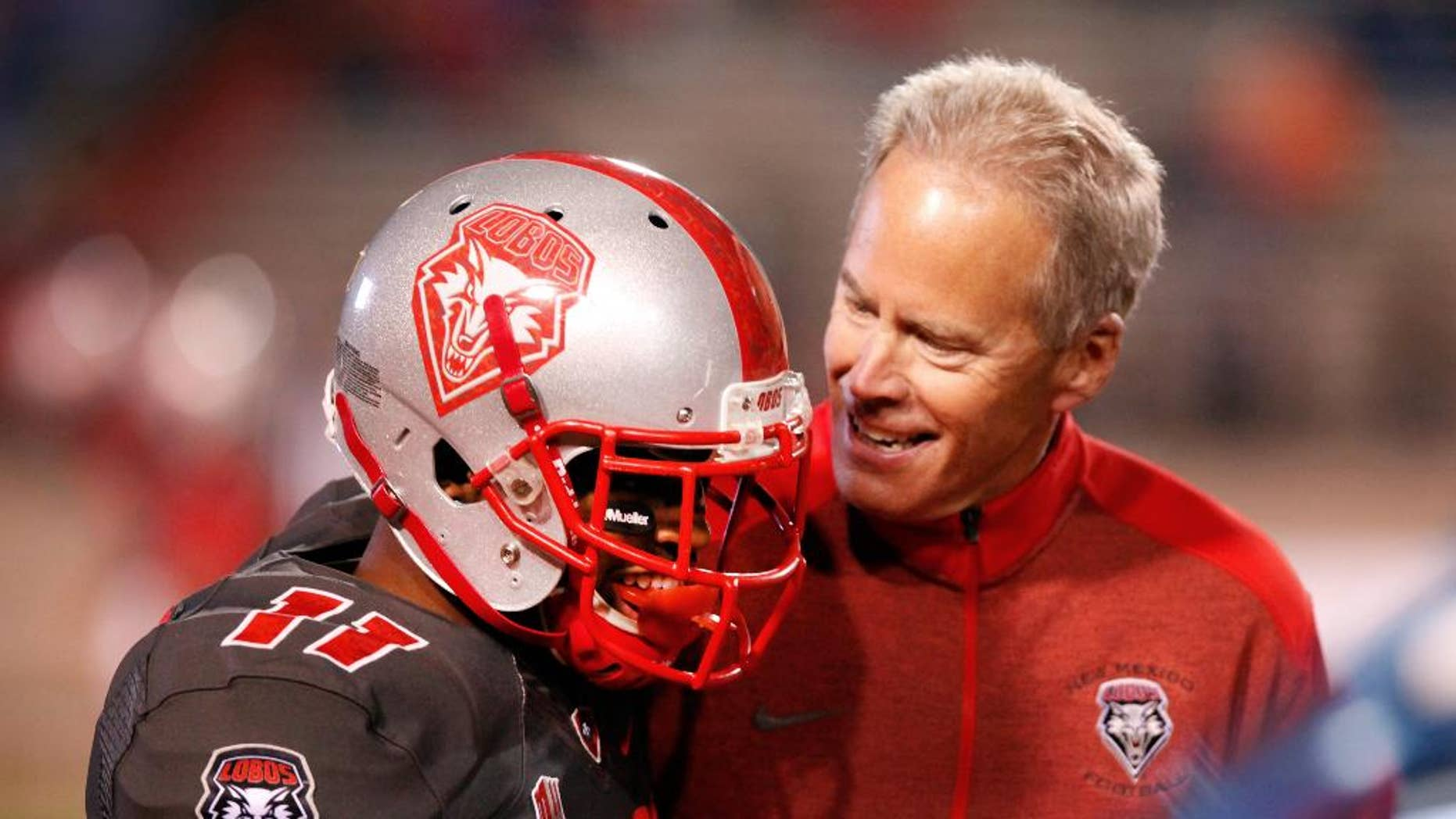Bob Davie has been the head coach at New Mexico since 2012.