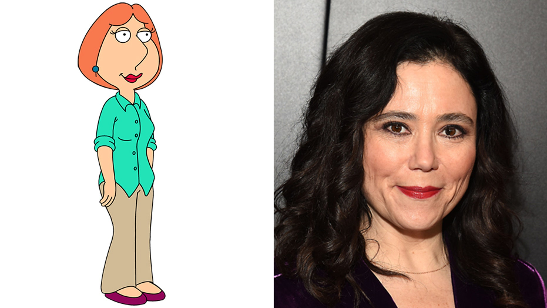 """Alex Borstein, right, voices Lois Griffin in the long-running animated Fox comedy """"Family Guy."""""""