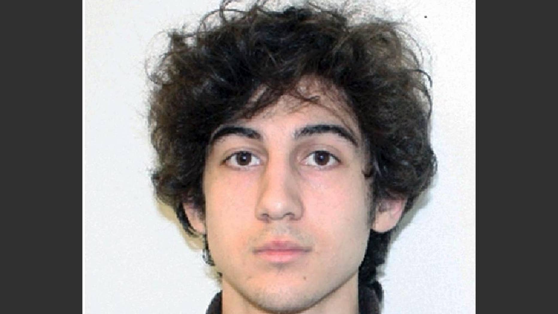 FILE - This file photo provided Friday, April 19, 2013 by the Federal Bureau of Investigation shows Boston Marathon bombing suspect Dzhokhar Tsarnaev. The focus of the Boston Marathon bombing trial figures to be as much on what punishment Dzhokhar Tsarnaev could face as on his responsibility for the attack. With testimony expected to start later in January 2015, the Justice Department has given no indication it is open to any proposal from the defense to spare Tsarnaev's life, pushing instead toward a trial that could result in a death sentence. (AP Photo/FBI, File)