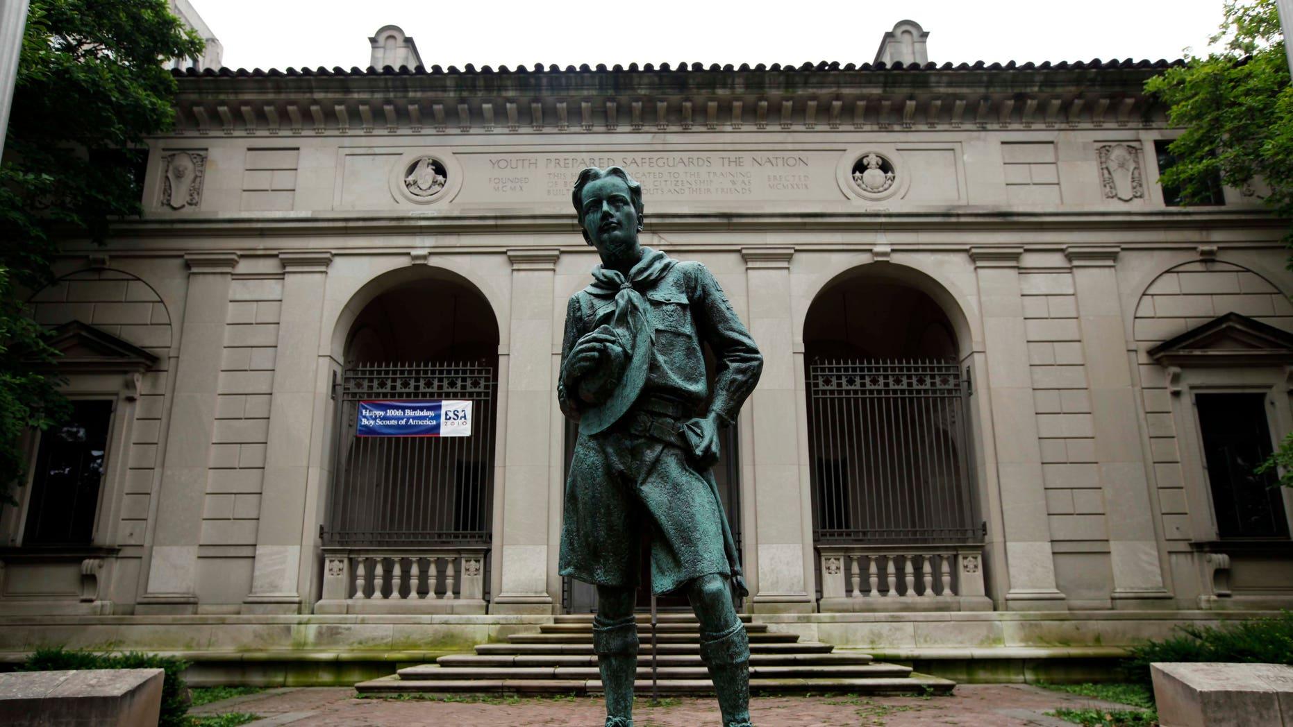 June 14, 2010- City-owned Boy Scouts headquarters in Philadelphia.
