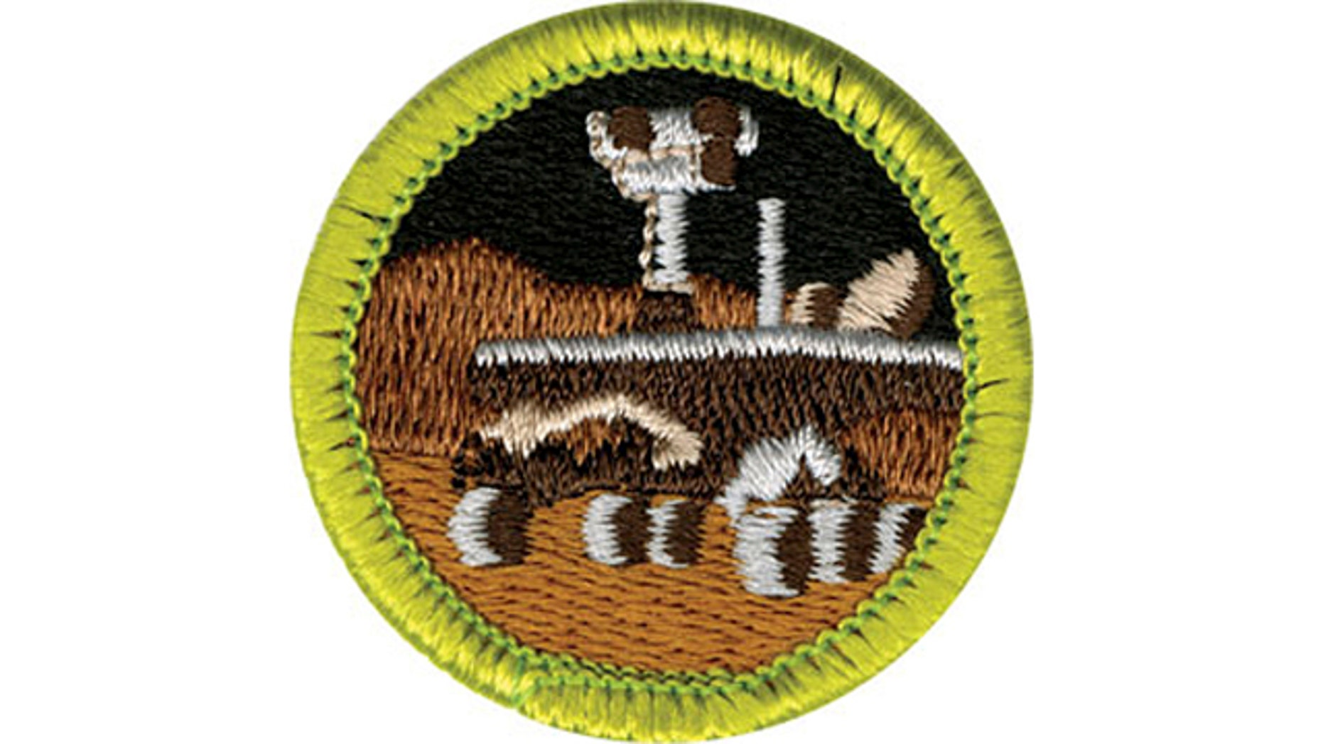 April 7, 2011: The Boy Scouts of America unveiled their new Robotics merit badge, which depicts NASA's Mars rover. The badge will be unveiled next week as part of its efforts to emphasize science, technology, engineering and math.