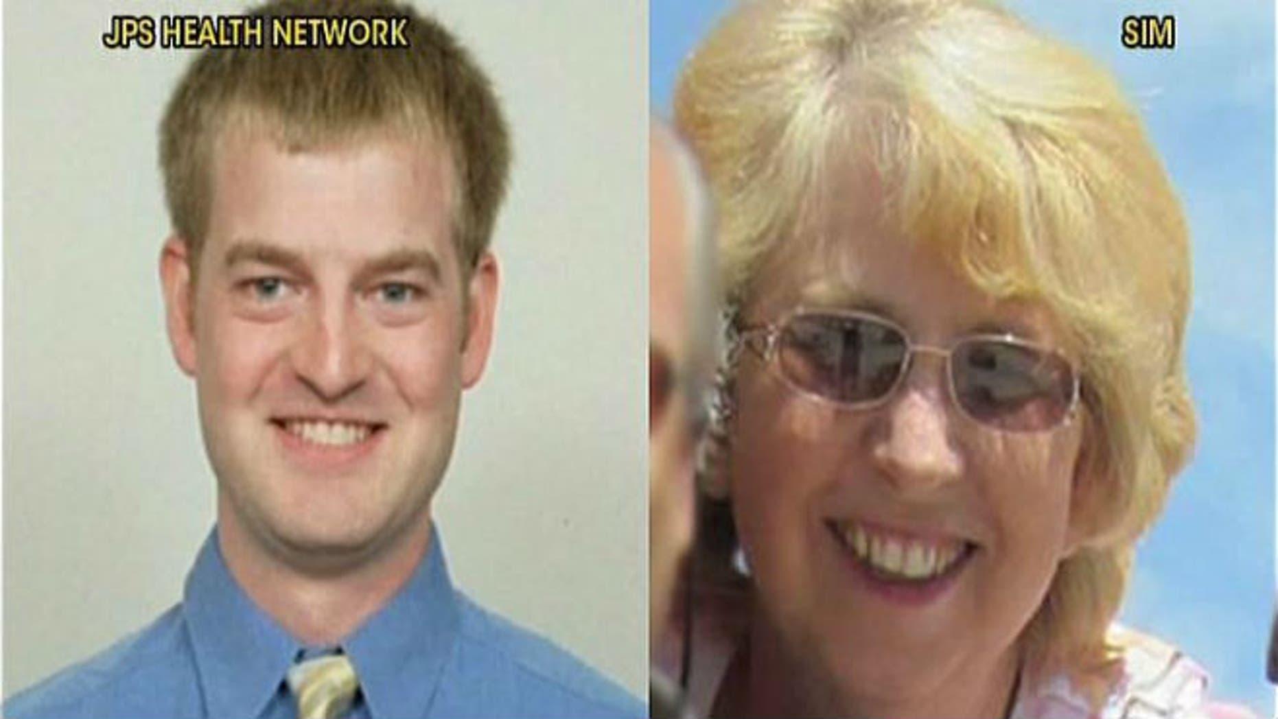 Dr. Kent Brantly and Nancy Writebol, courtesy of SIM