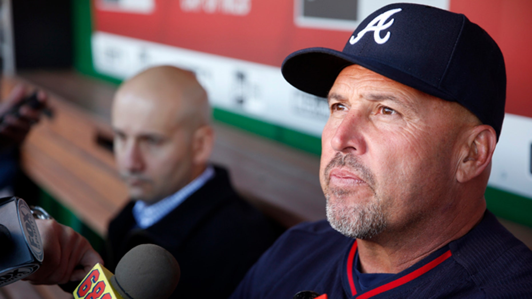 Former Atlanta Braves manager Fredi Gonzalez on April 13, 2016.