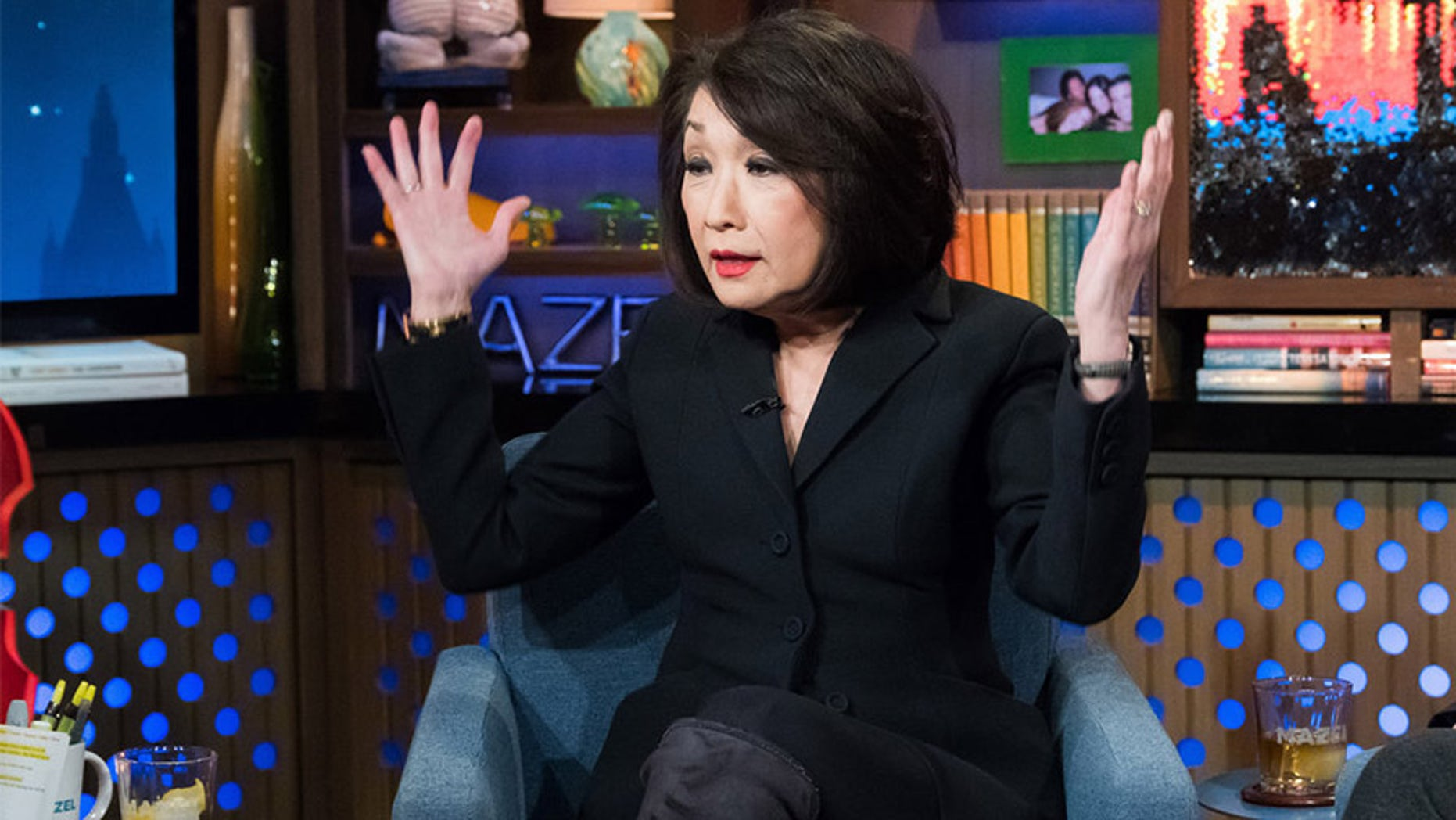 """Chung appeared on Bravo's """"Watch What Happens Live With Andy Cohen"""" on Feb. 8, 2018. She started as a correspondent for """"CBS Evening News"""" in the '70s and has since held positions at NBC, ABC, CNN and MSNBC."""