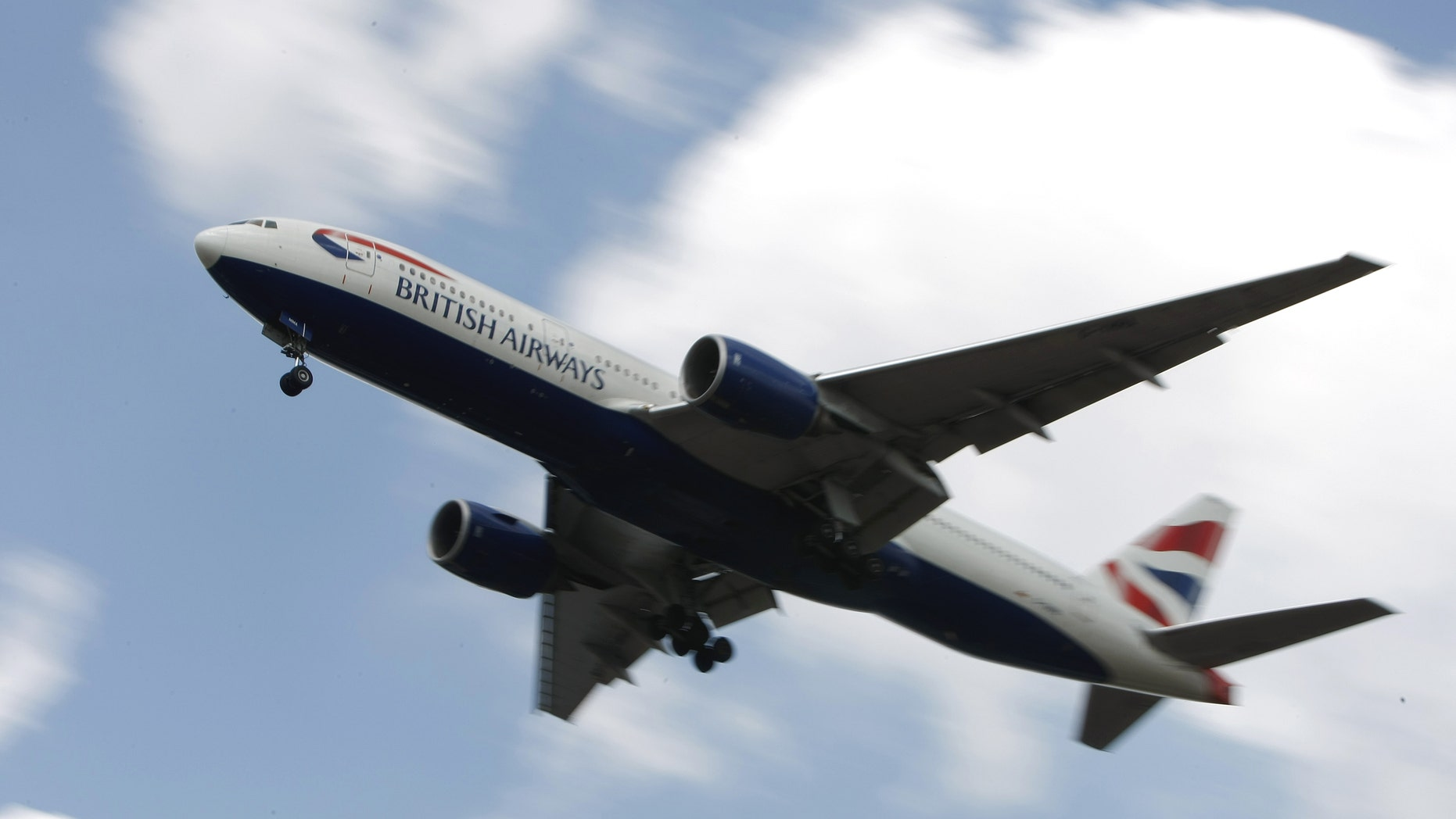 A British Airways plane comes into land at London's Heathrow Airport, Thursday, May, 27, 2010. British Airways is said to be able to run some 50 percent of short haul flights and some 60 percent of long haul flights from Heathrow airport, despite a continued five-day strike by the cabin crew union Unite. (AP Photo/Alastair Grant)