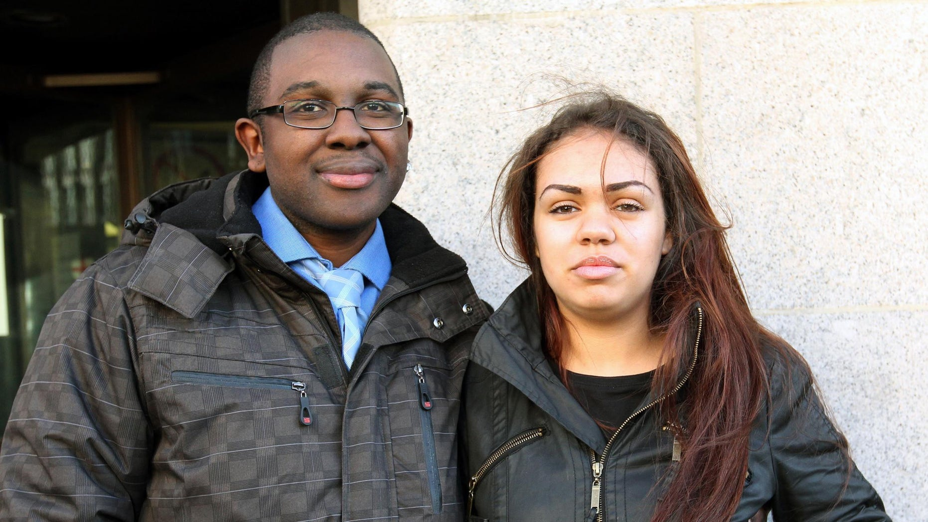 Dec. 9, 2011: This is a photo of of Rohan Wray and Chana Al-Alas. British couple Wray and Al-Alas has been reunited Friday April 20, 2012  with their infant daughter after a long legal battle that dragged on even after they were acquitted of murdering their 4-month-old son.
