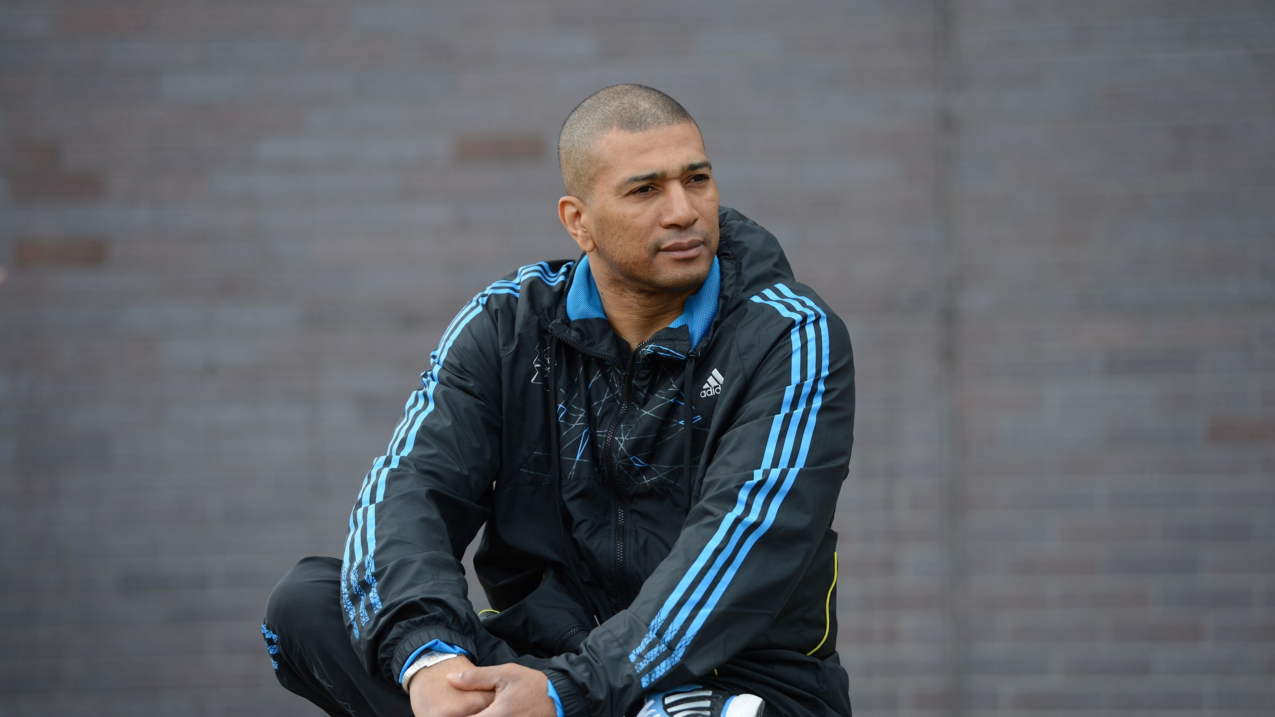 May 5, 2012: Taekwondo coach Patrice Remarck posing for a photograph during the European Taekwondo Championships, at the Manchester Regional Arena, Manchester, England.