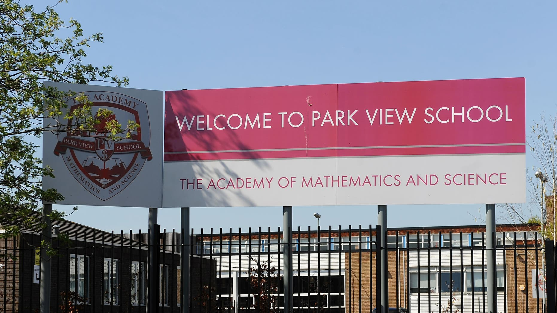 """April 16, 2014: Government inspectors say there is a """"culture of fear and intimidation"""" at several British schools, including Park View School in Birmingham, investigated over allegations of a plot to run them along strict Islamic lines."""
