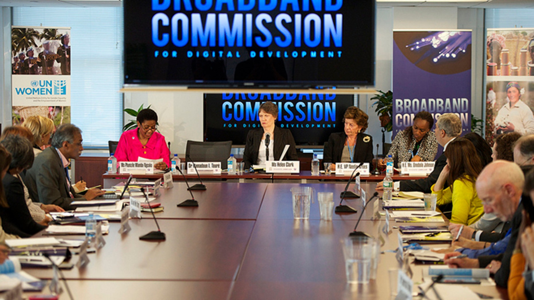 Sept. 20, 2013: The second meeting of the U.N.'s Broadband Commission Working Group on Gender meets in New York City.