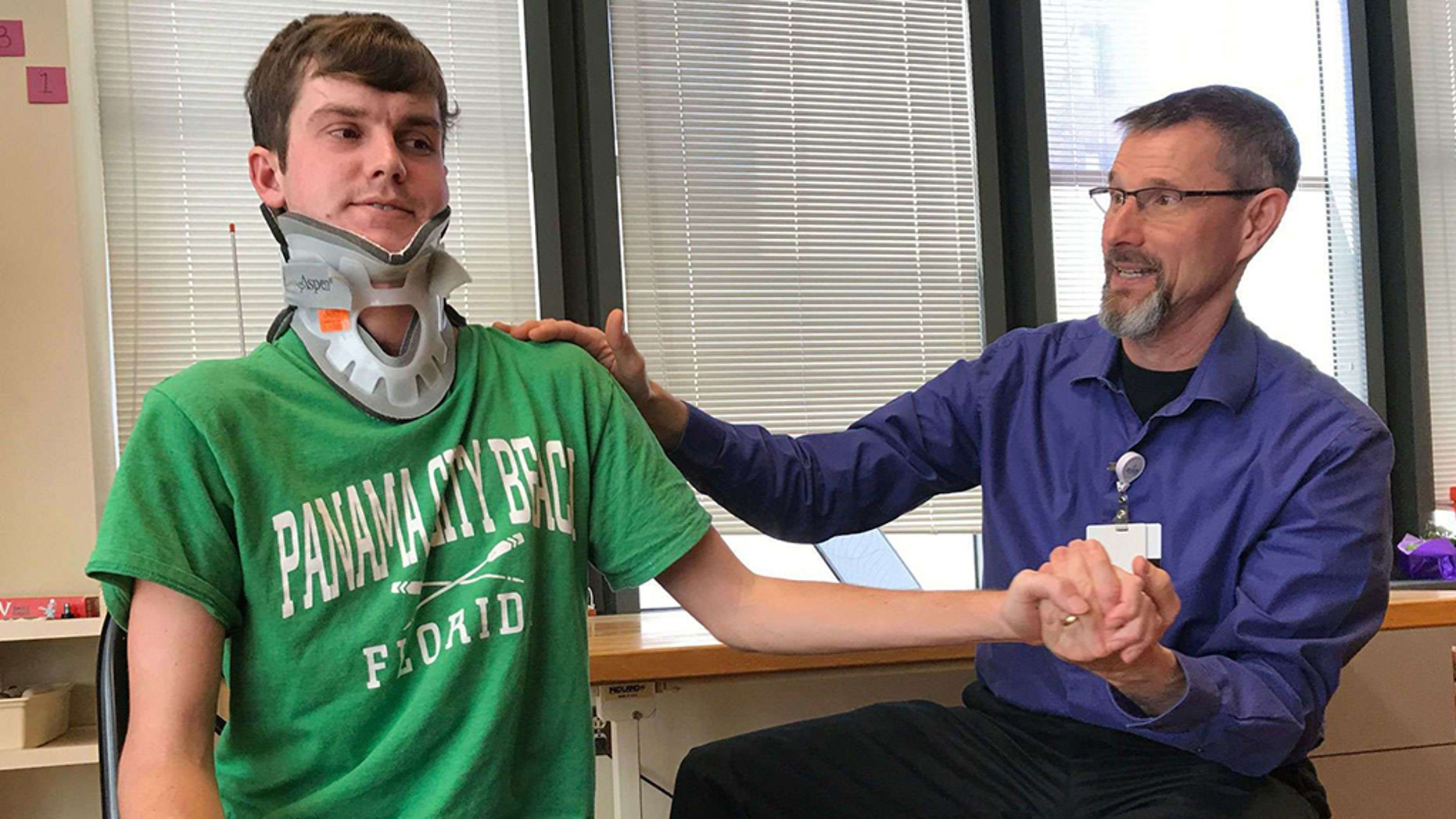 Indiana man survives internal decapitation years after beating brain