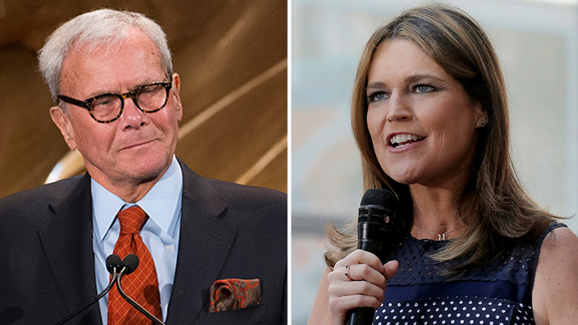 NBC News' Tom Brokaw and Savannah Guthrie spoke about the Russian probe on air just moments before President Trump's first State of the Union address.