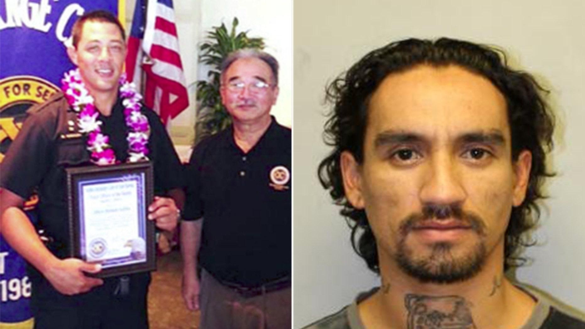 Justin Joshua Waiki, shot and killed Officer Bronson K. Kaliloa during a traffic stop on Hawaii's Big Island on Tuesday, according to police.