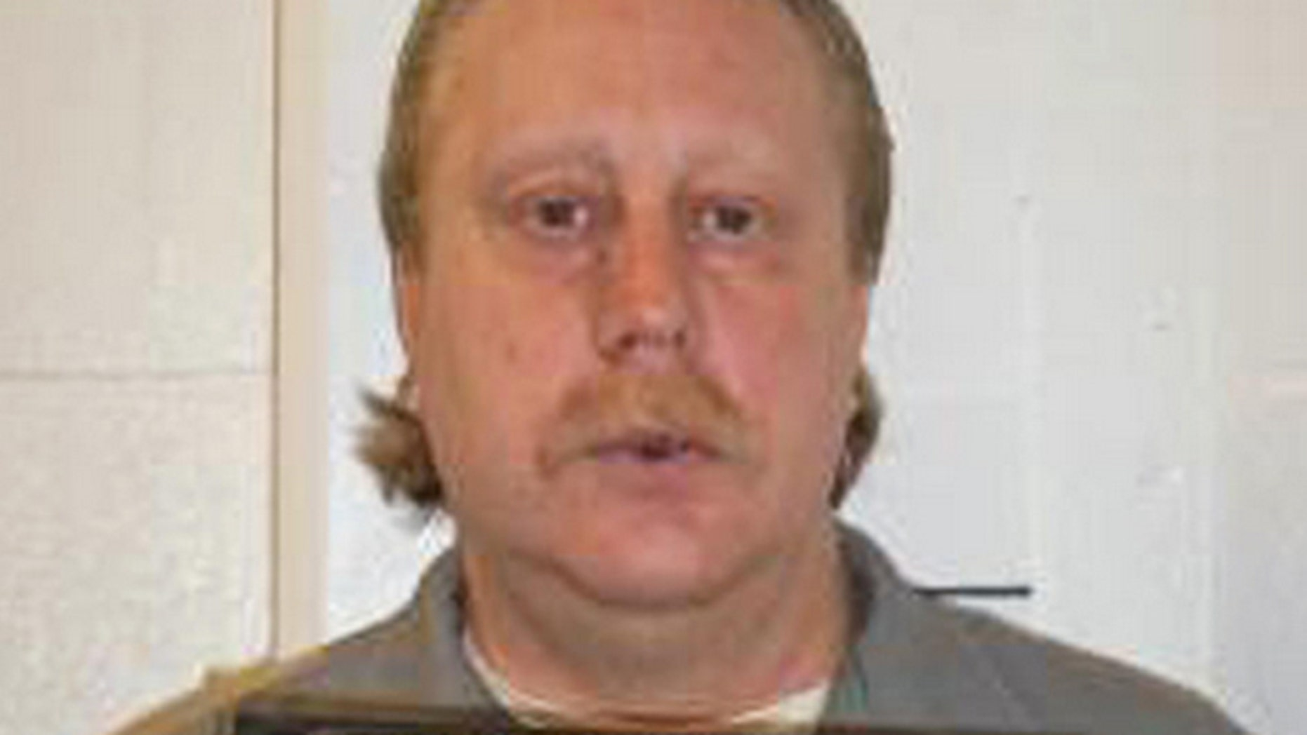 FILE 2014: Russell Bucklew is scheduled to die for killing a romantic rival as part of a crime spree in southeast Missouri in 1996.