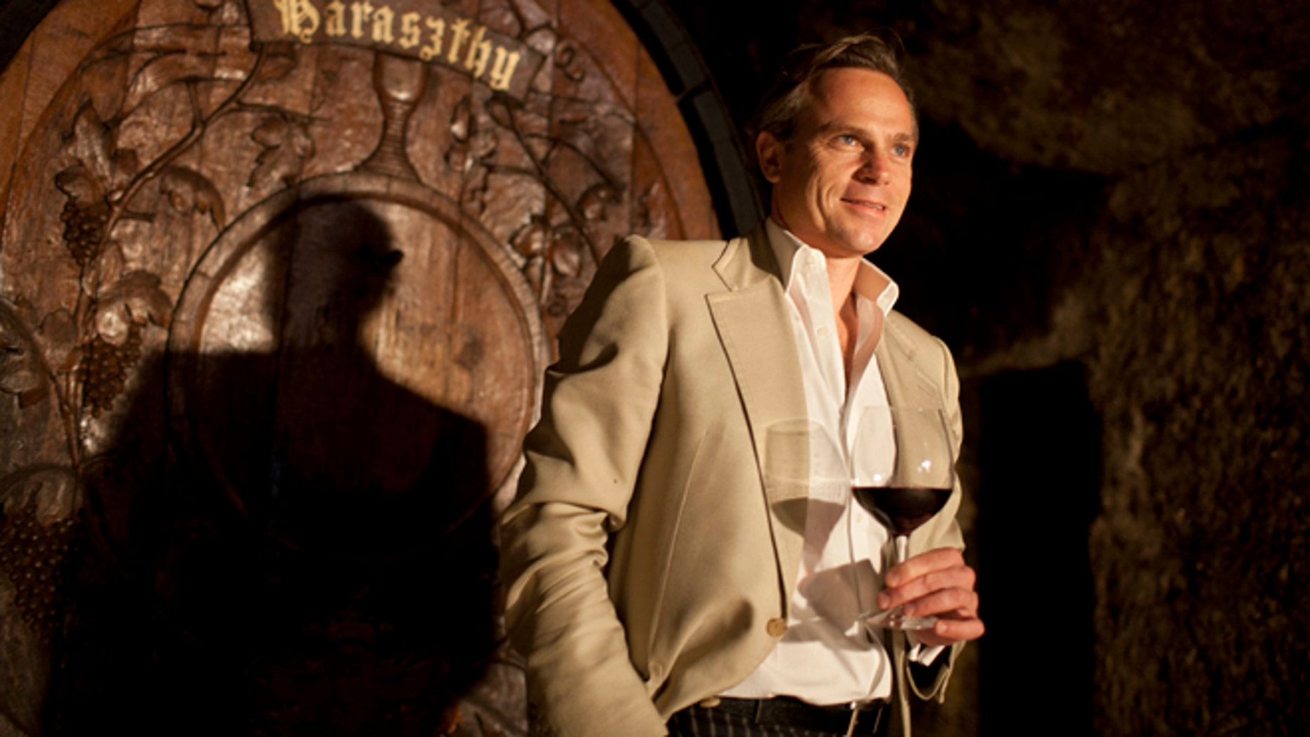 In this photo taken Thursday, Aug. 23, 2012 Jean-Charles Boisset stands inside a cave dating to 1864 and looks out at renovations taking place in the champagne cellar at the Buena Vista Winery in Sonoma, Calif. Many people think the California wine world came of age in 1976 after a famous tasting in Paris put the Golden States vintages on the world map. But for Boisset, new owner of the states oldest commercial winery, the states fine wine making traditions started a century before that. Thats why the Burgundian is building the future of 155-year-old Buena Vista Winery, a landmark known as the birthplace of California wine, on its past. He plans to make wines in September in the stately stone buildings and old wine caves for the first time in two decades. (AP Photo/Eric Risberg)