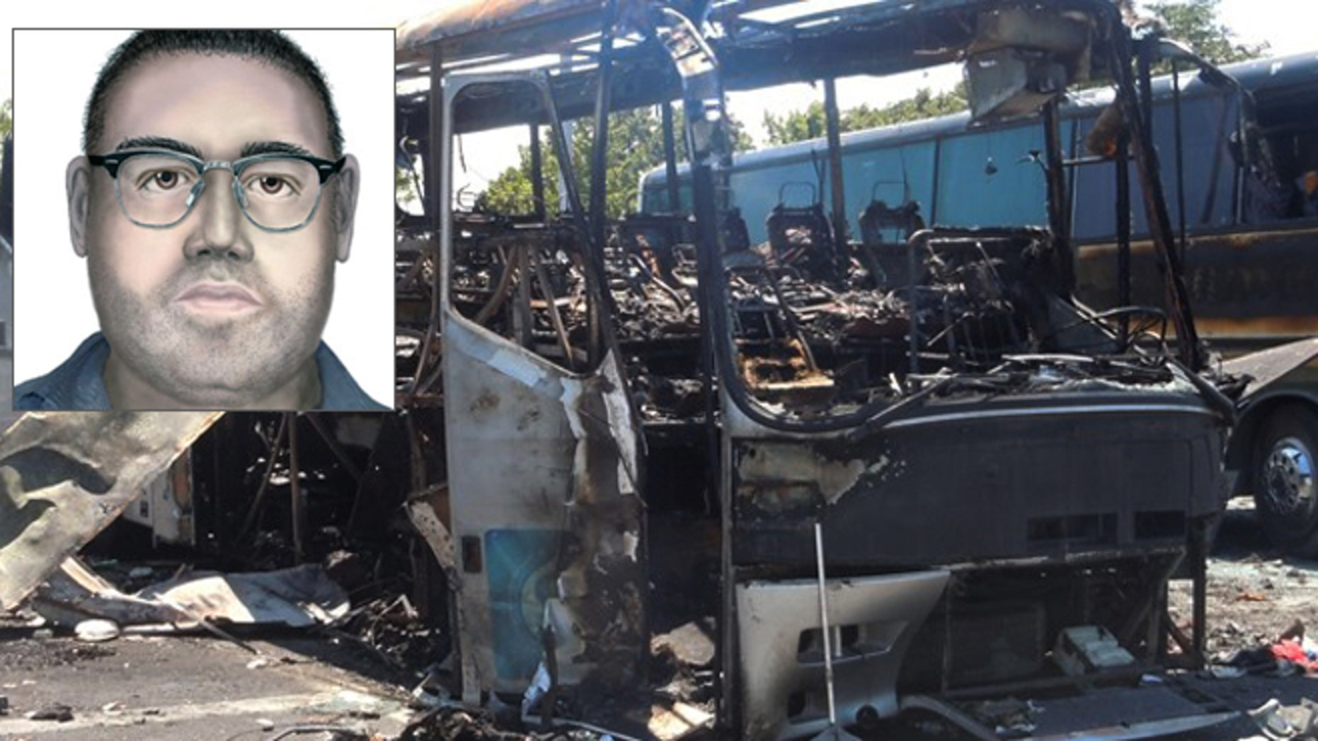 A computer-generated image of a man suspected of involvement in the bombing that killed five Israeli tourists and a Bulgarian bus driver a month ago in Burgas