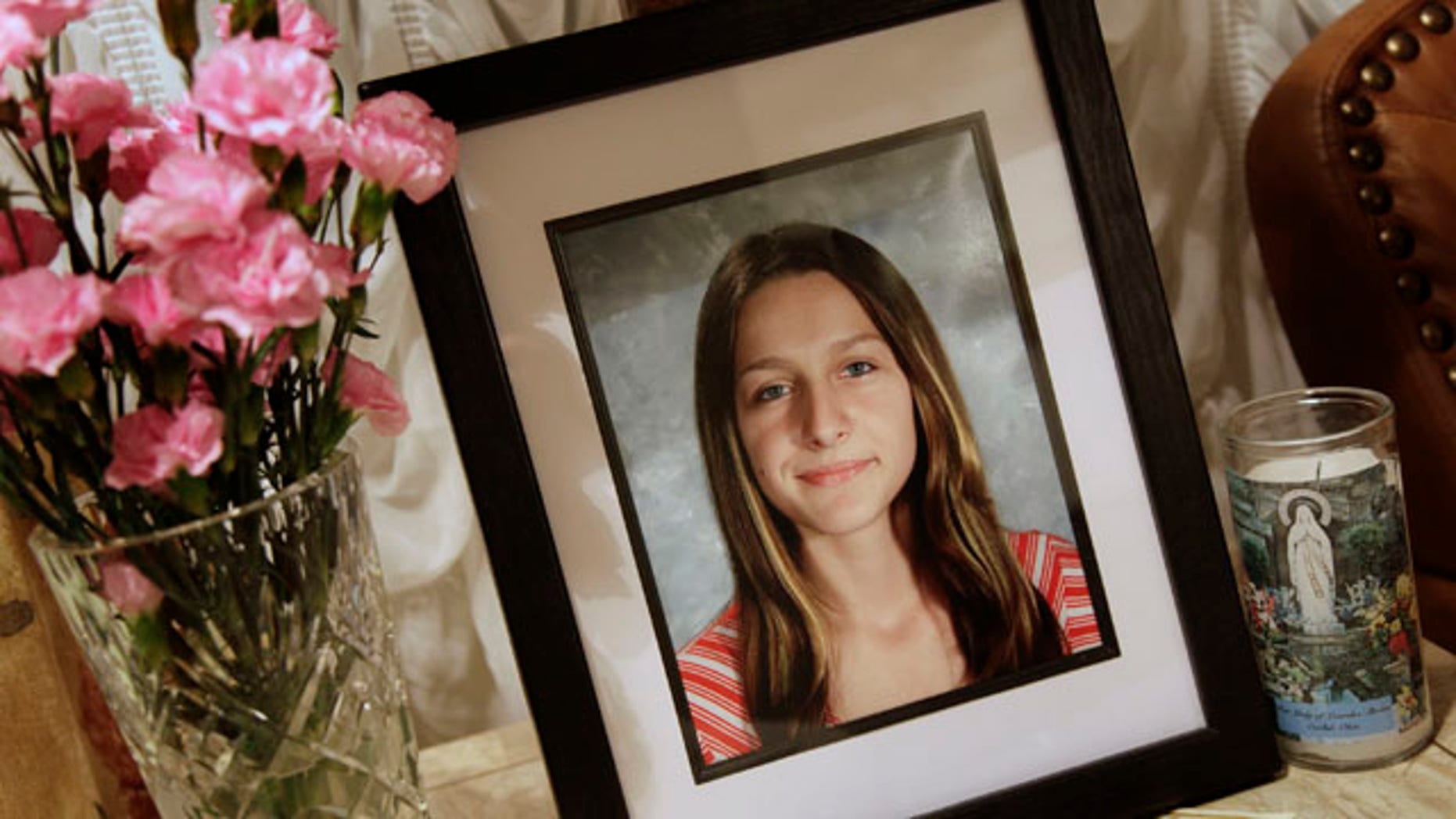 Sept. 1, 2010: A portrait of Sladjana Vidovic, who committed suicide in 2008, sits in the livingroom of her family's Mentor, Ohio home.