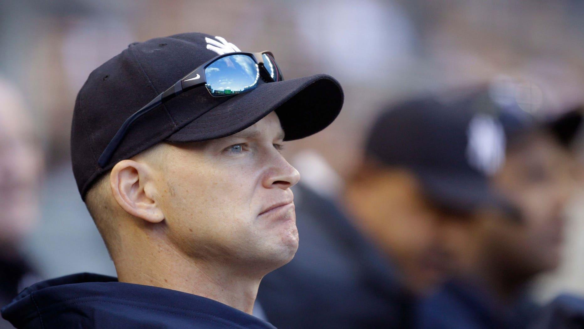 New York Yankees starting pitcher A.J. Burnett. (AP)