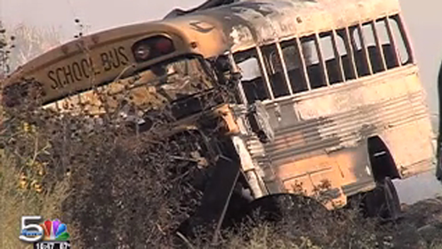 Four people were killed after a school bus and truck collided in Nebraska.