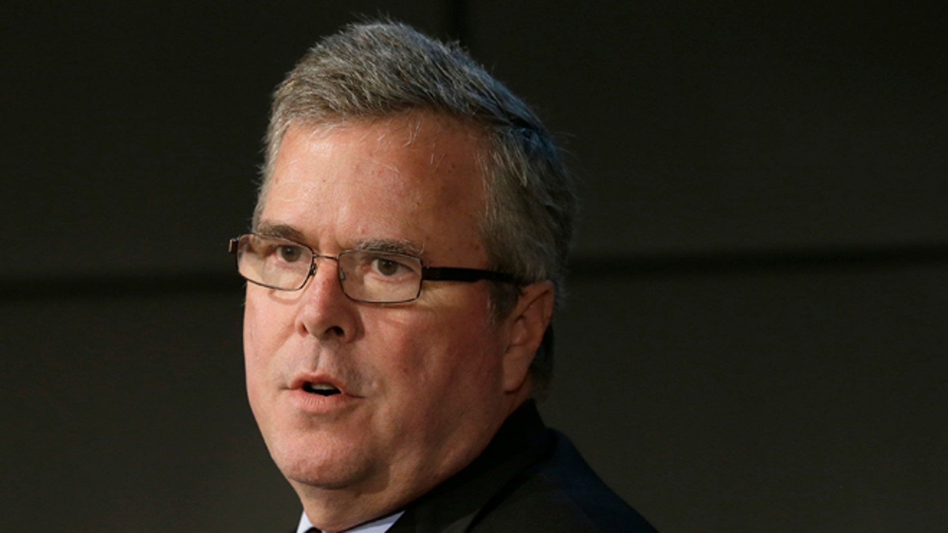 FILE: Jan. 14, 2014:  Former Florida Gov. Jeb Bush at a forum in Nashville, Tenn.