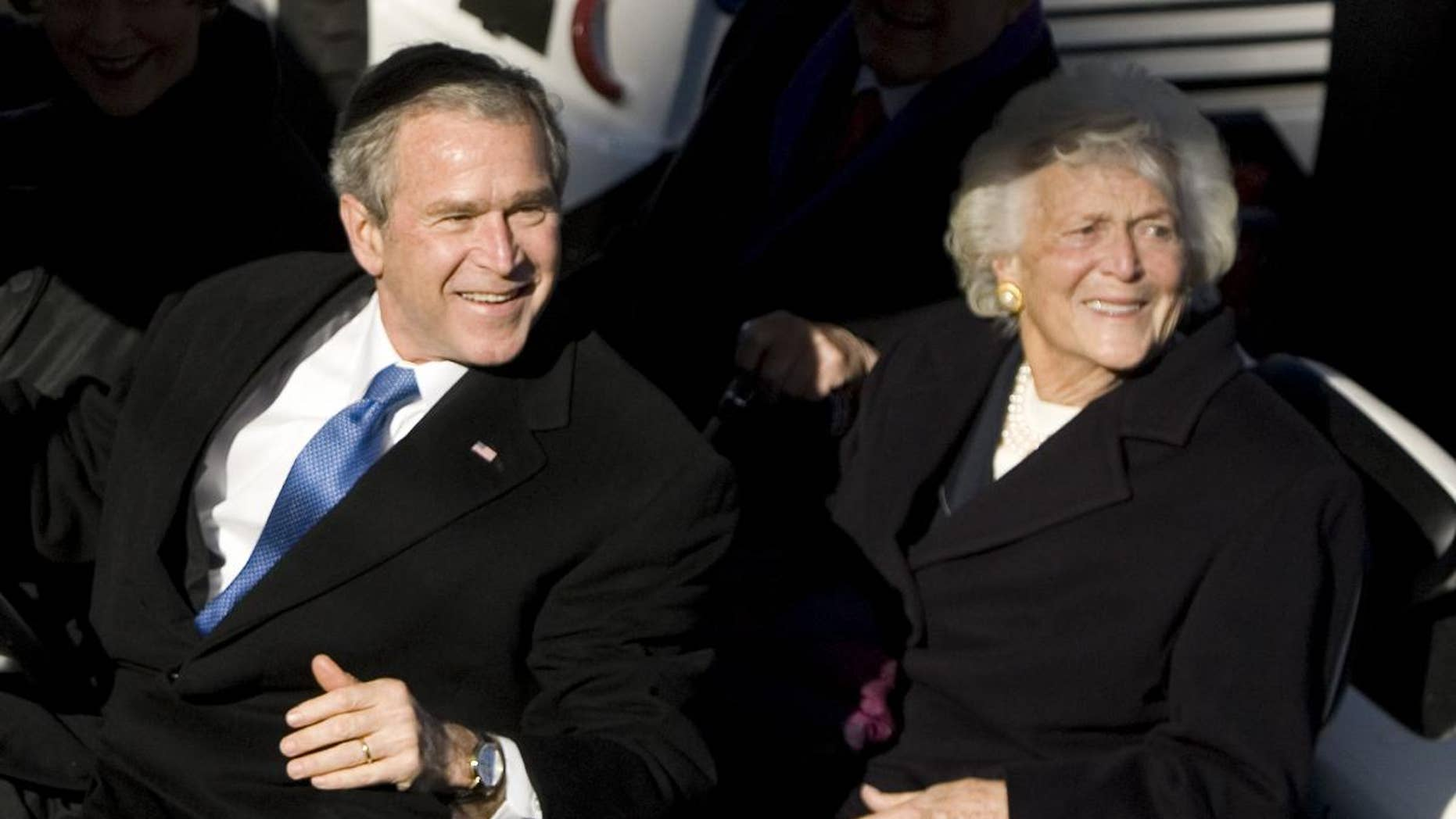 Mother and son on January 10, 2009 / AP Photo