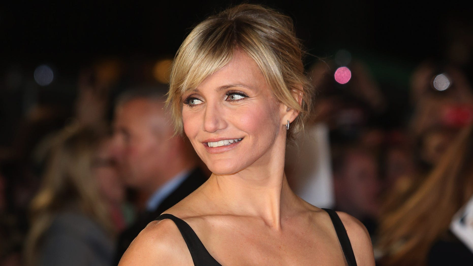 """Nov. 7, 2012: Actress Cameron Diaz attends the World Premiere of """"Gambit"""" at Empire Leicester Square in London, England."""
