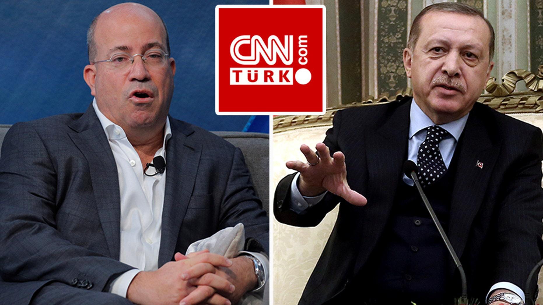 CNN Worldwide president Jeff Zucker accepts a licensing fee from the controversial, pro-Turkish President Tayyip Erdogan network CNN Turk.