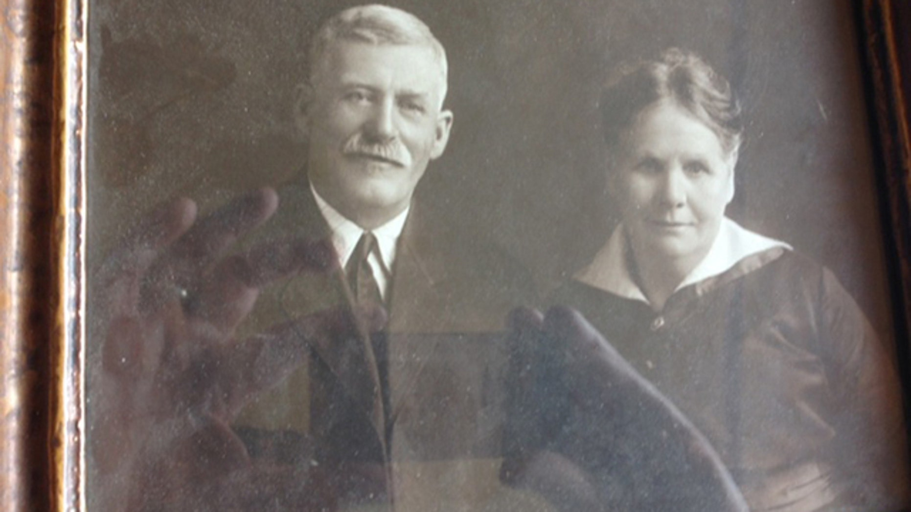 This image provided by the Department of Justice National Missing and Unidentified Persons System database shows an undated photo of Marvin Clark and an unidentified woman. Clark is one of the oldest missing persons case in the National Missing and Unidentified Persons System (NamUs) database. He was reported missing in November, 1926. NamUs is looking into the possibility that remains found in 1986 near US 30 may be those of Marvin Clark. (AP Photo/Department of Justice  National Missing and Unidentified Persons System)