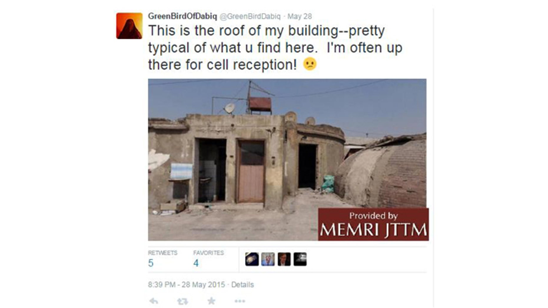 Western defectors now with the Islamic State, often take to social media to complain about their quality of life in the so-called caliphate. (MEMRI JTTF)
