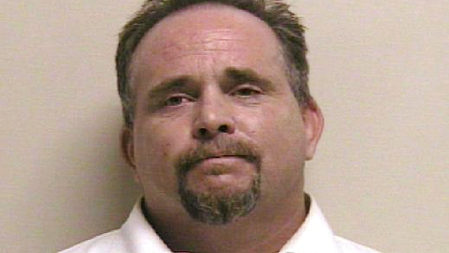 This photo released by the Utah County Jail shows Mark Byrge.  (AP/Utah County Jail)