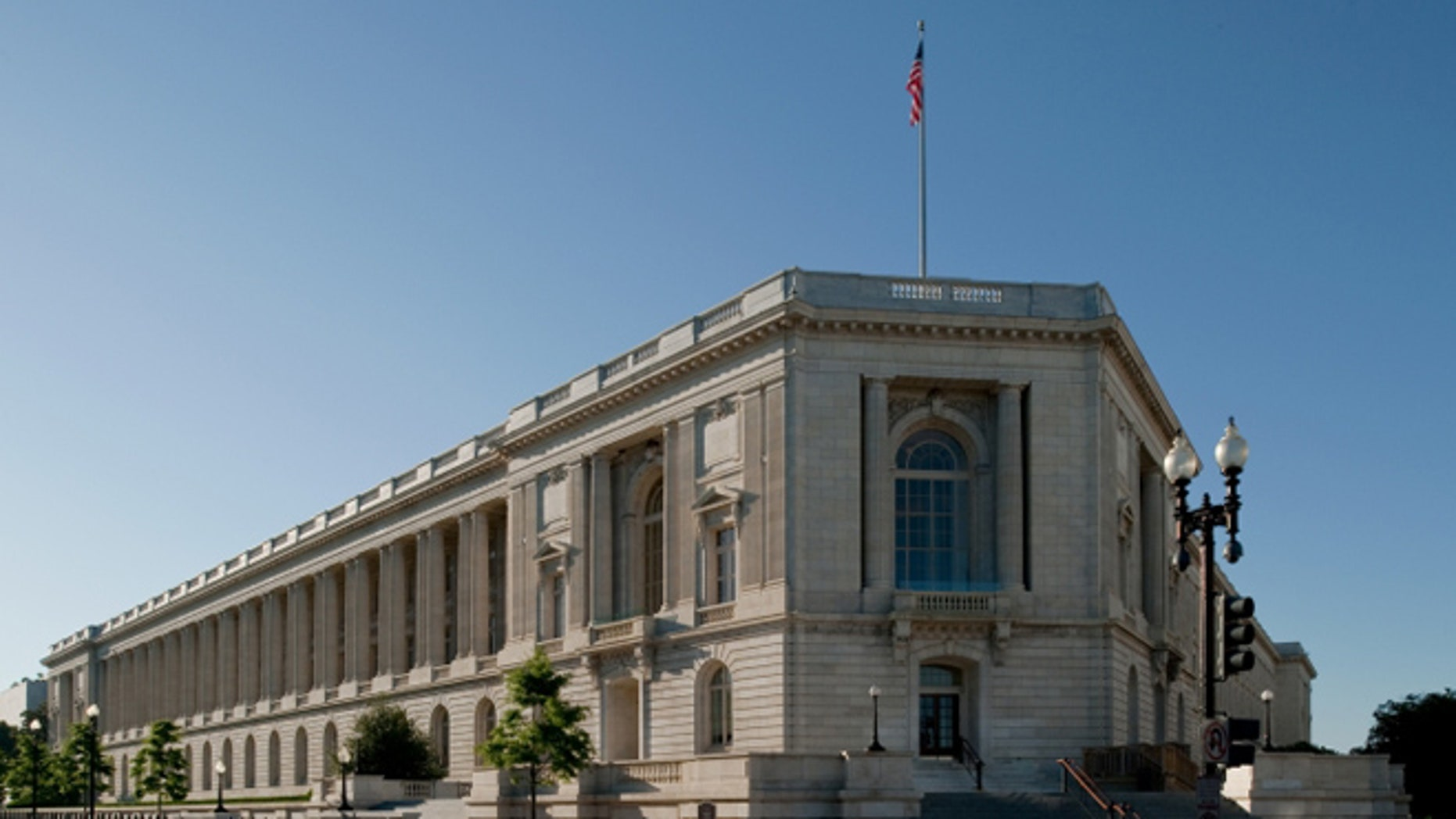FILE: UNDATE: The Cannon House Office Building, on Capitol Hill. Washington, D.C.