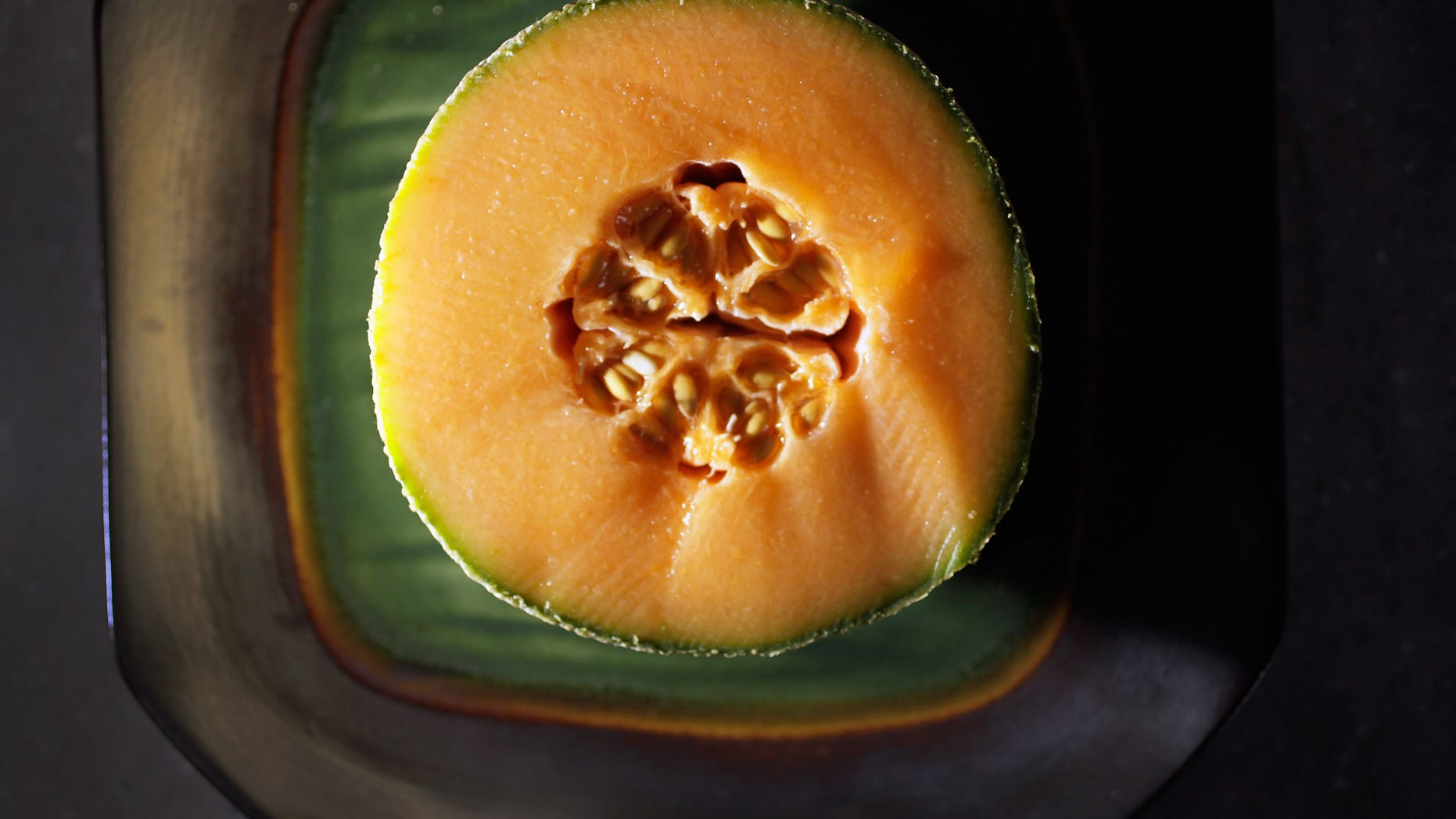MIAMI, FL - SEPTEMBER 29:  In this photo illustration a cantaloupe is seen sliced open on September 29, 2011 in Miami, Florida. The Centers for Disease Control and Prevention reported that cantaloupe from Jensen Farms of Holly, Colorado have the bacterium listeria and so far, the outbreak has sickened more than 70 people, and killed up to 16, in 18 states.  (Photo Illustration by Joe Raedle/Getty Images)
