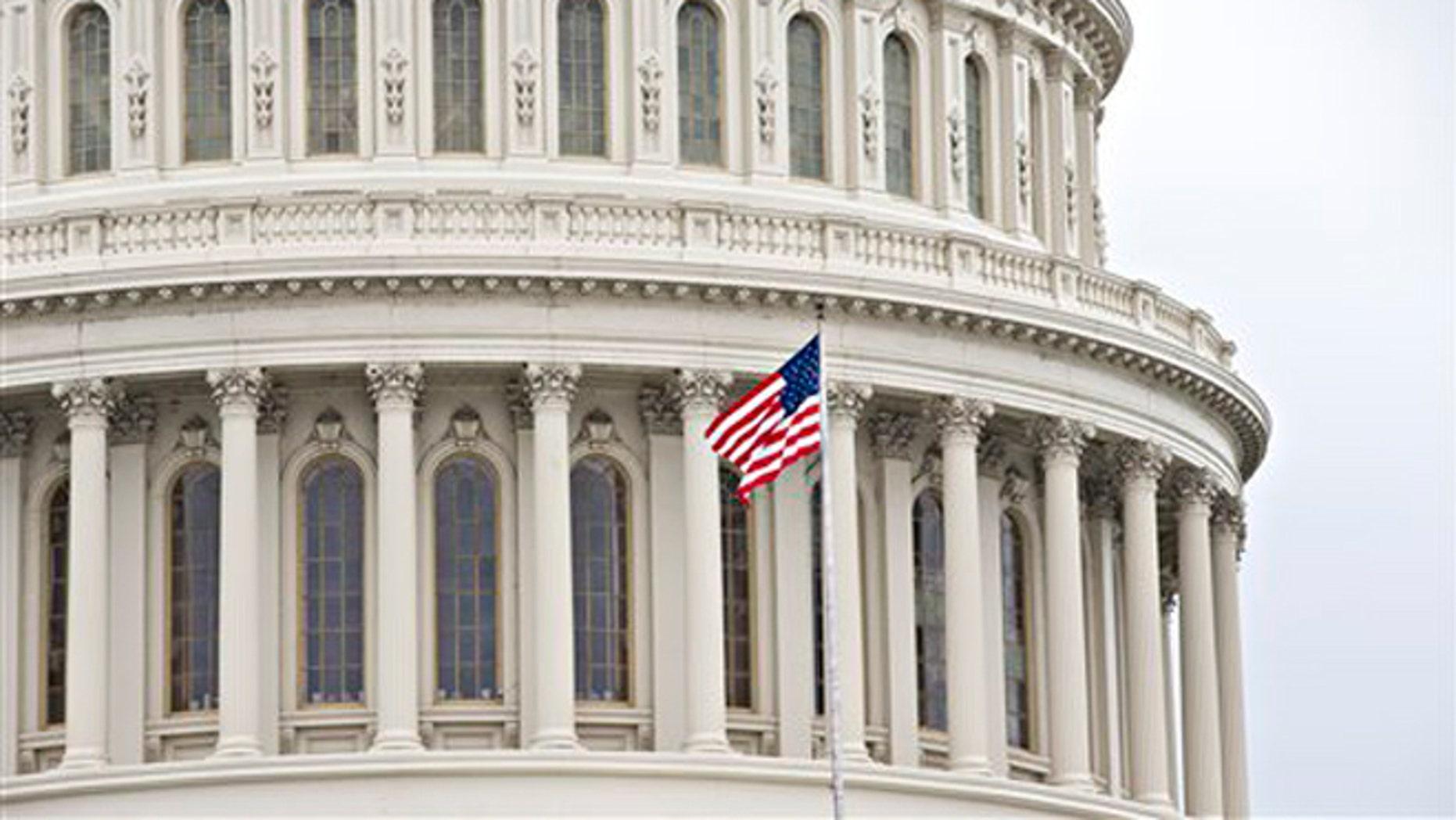 Feb. 26, 2013: The Capitol dome in Washington