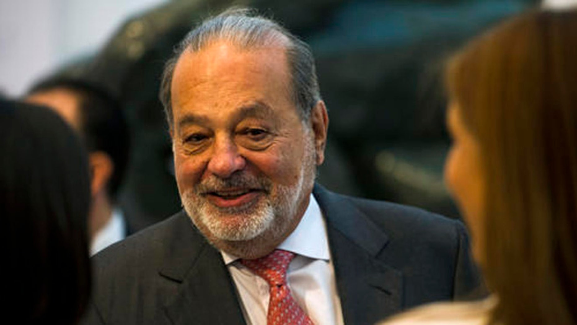 Carlos Slim at the Museo Soumaya in Mexico City, Wednesday, June 15, 2016.