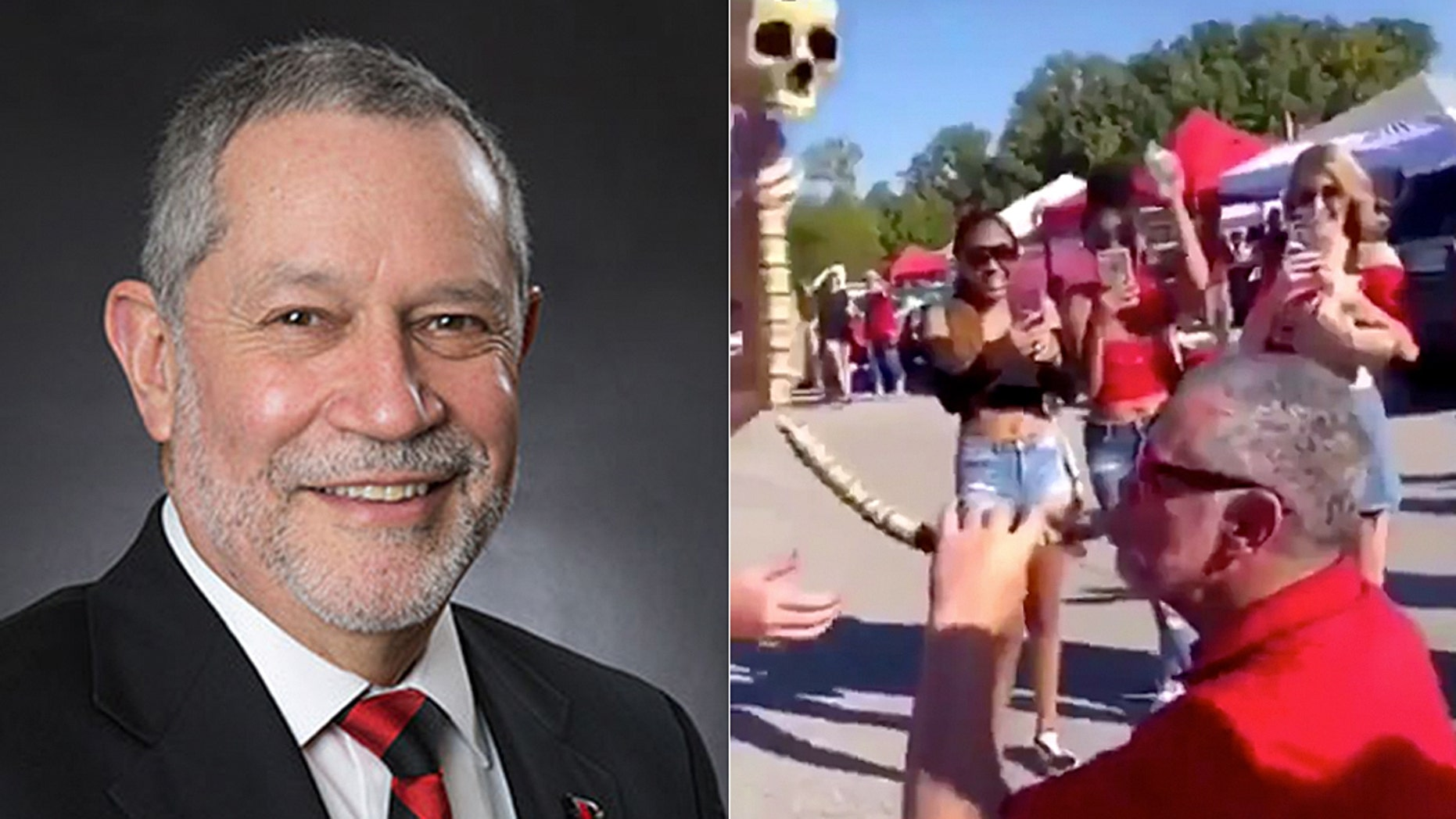 Dr. Carlos Vargas, president of Southeast Missouri State University, apologized after video surfaced of him drinking from a beer bong.