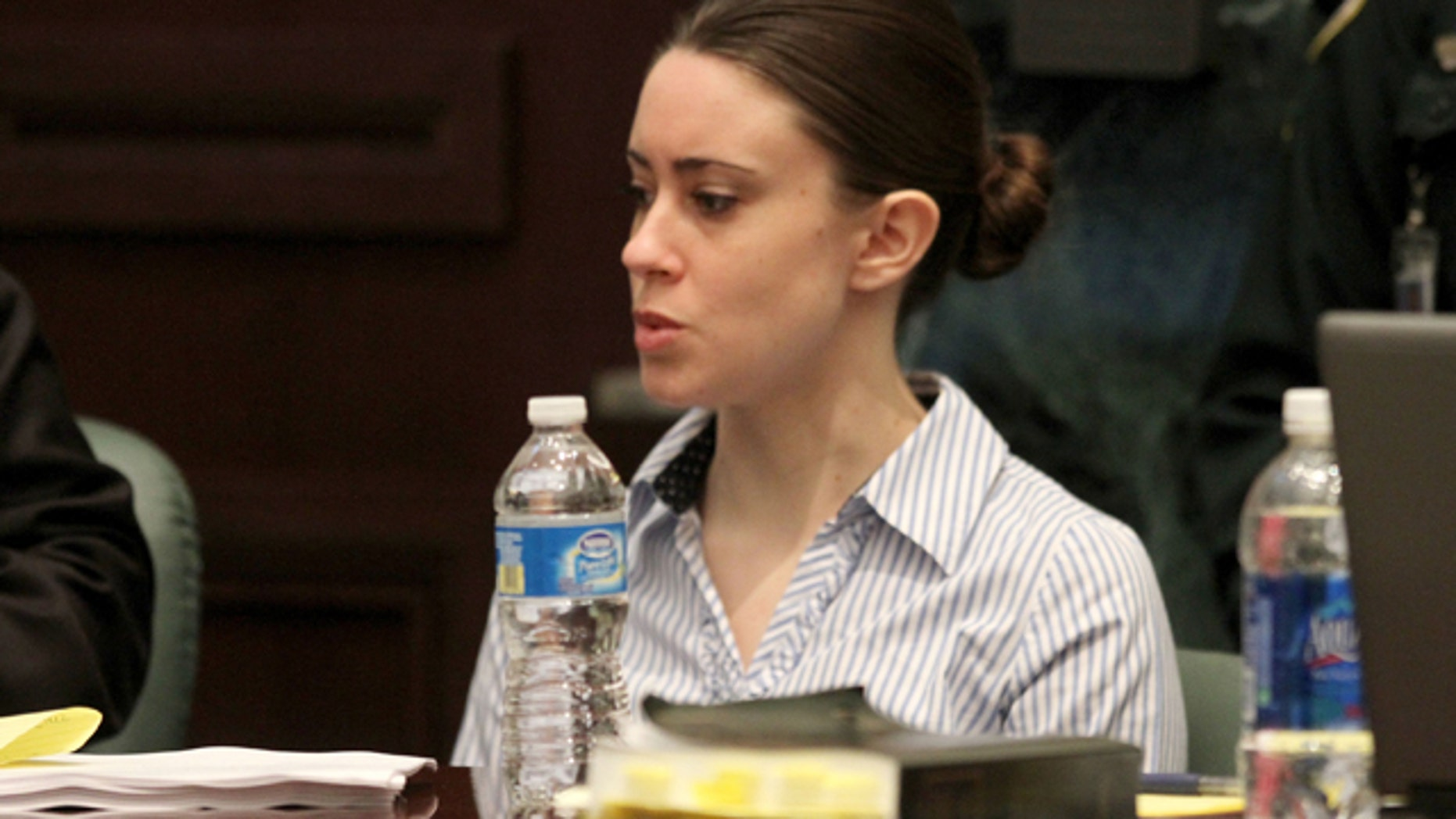 A computer expert who testified in the Casey Anthony trial refused Wednesday to comment on a newspaper report that said he claims evidence offered about extensive chloroform searches on the family's computer was inaccurate.
