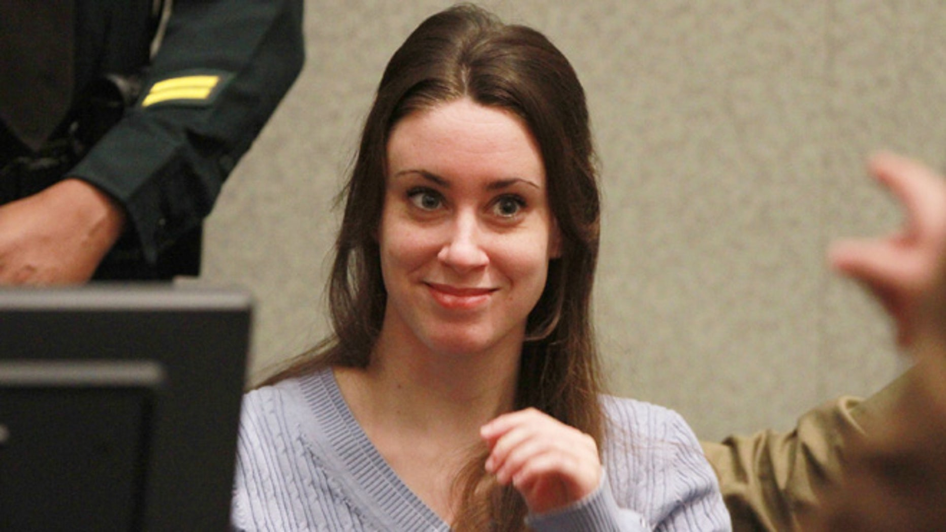 Casey Anthony is reportedly partying more and trying to put her past behind her now that it's been eight years since since she was acquitted for the murder of her 2-year-old daughter Caylee, a source told People magazine. (Photo by Joe Burbank-Pool/Getty Images)