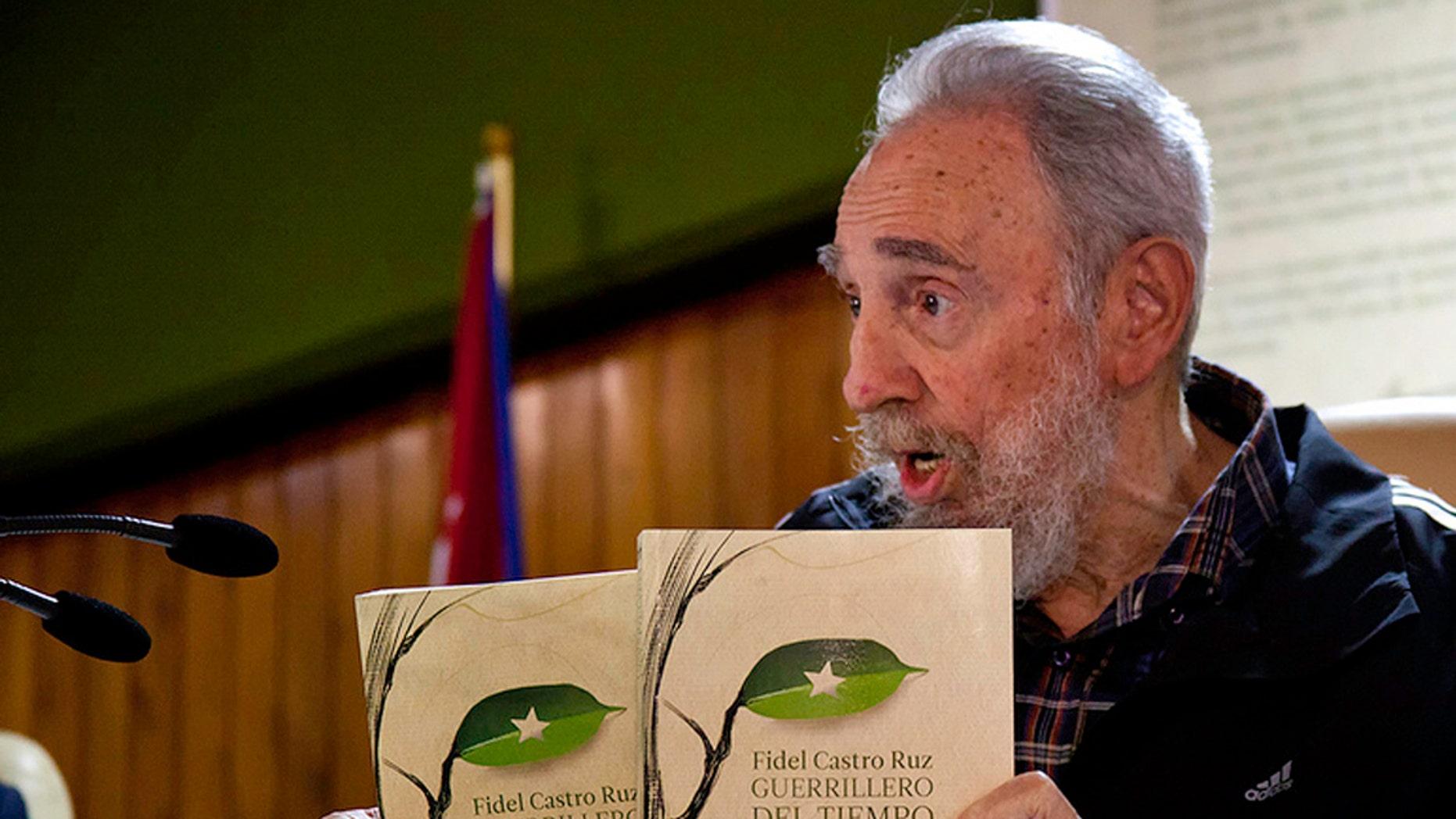 (AP Photo/Cubadebate, Roberto Chile)