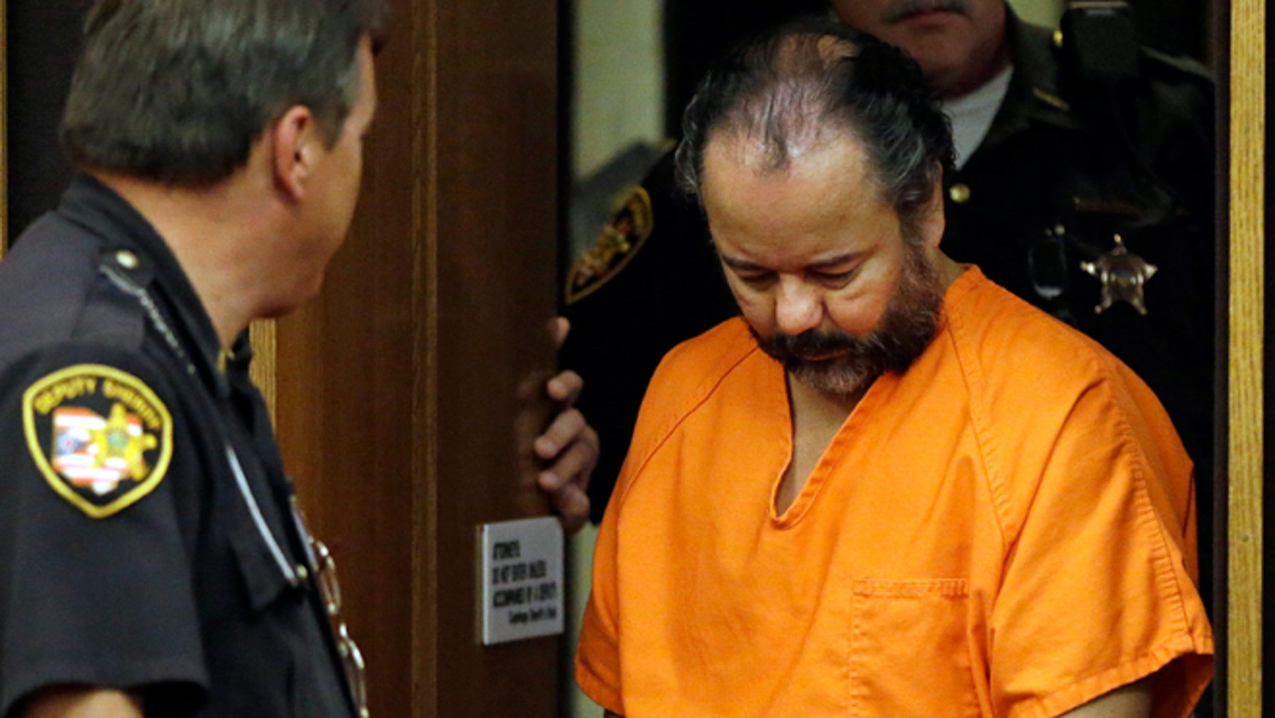July 3: Ariel Castro is led into Cuyahoga County Common Pleas Court in Cleveland for a pretrial hearing