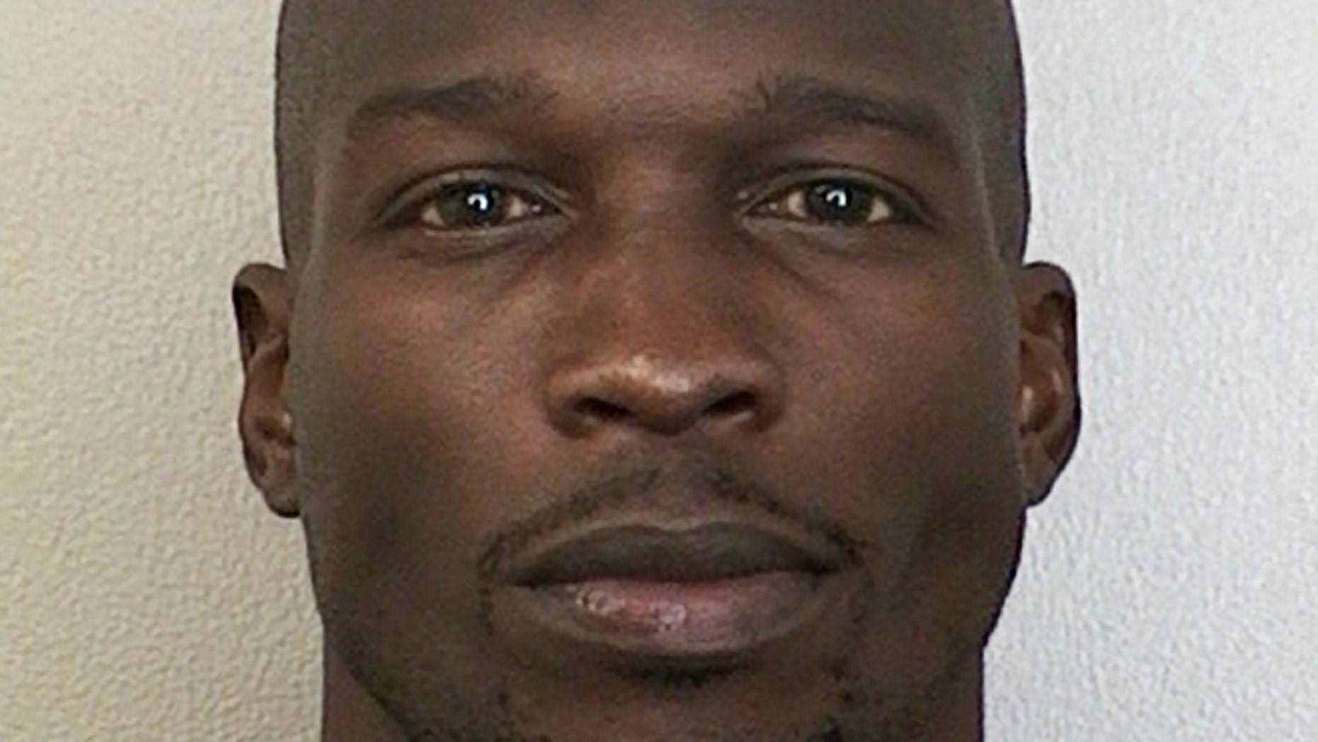 This undated photo provided by the Broward Sheriff's Office shows Miami Dolphins wide receiver Chad Johnson.