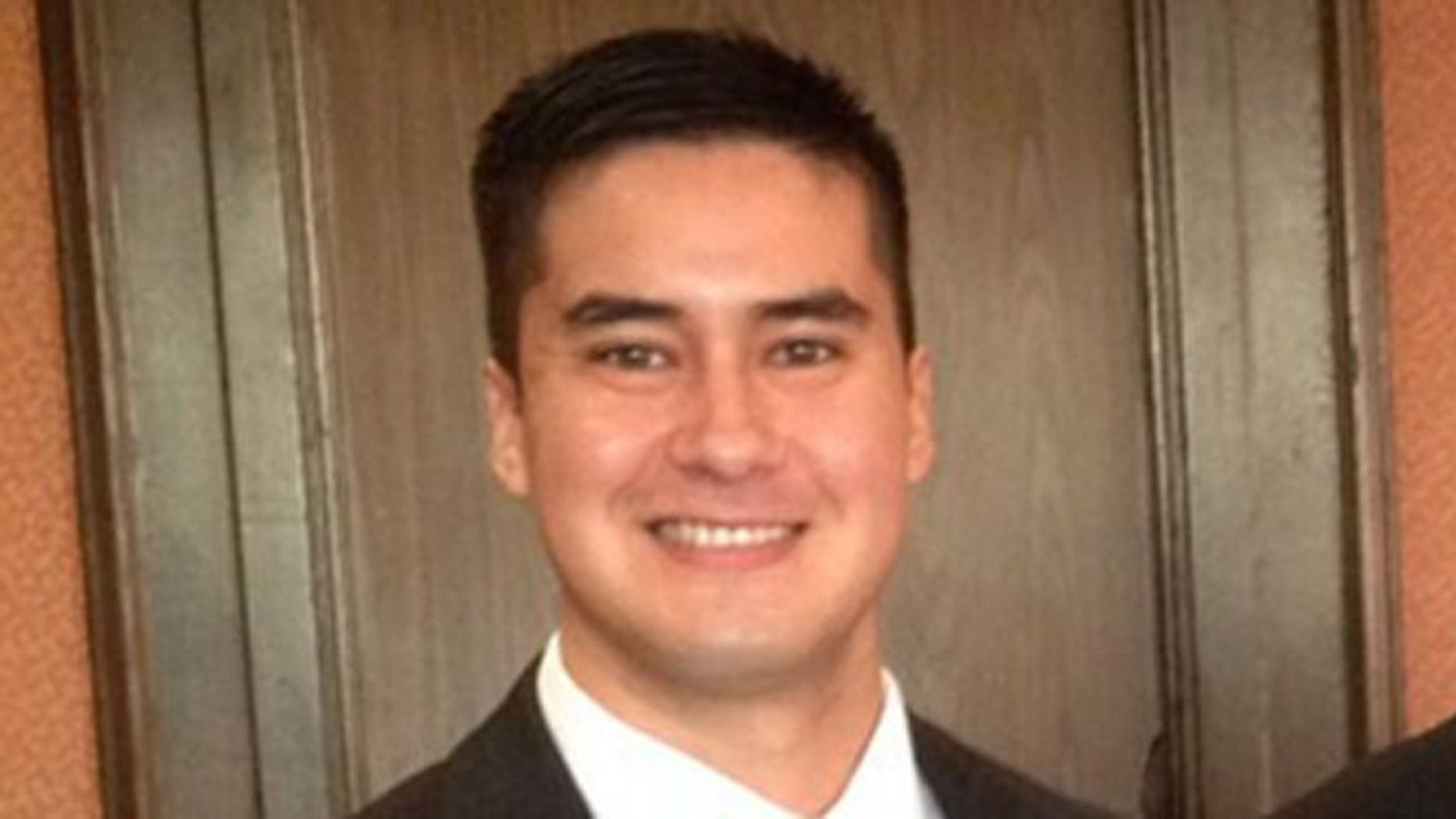 Young Conservatives of Texas chairman, Lorenzo Garcia, in November 2013.