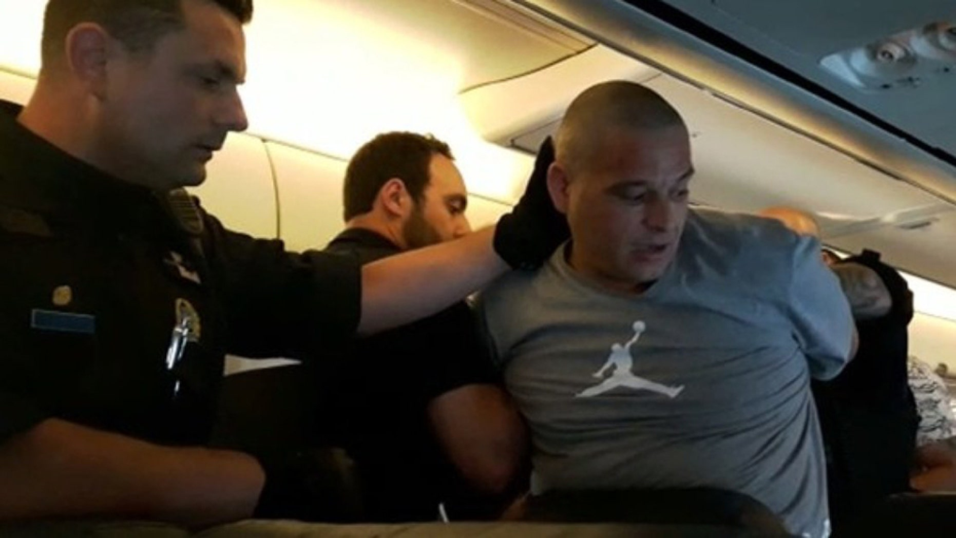 Charalabos Nassios pleaded guilty to charges of assault, mischief and uttering threats during a Cuba-bound Sunwing flight in July last year.