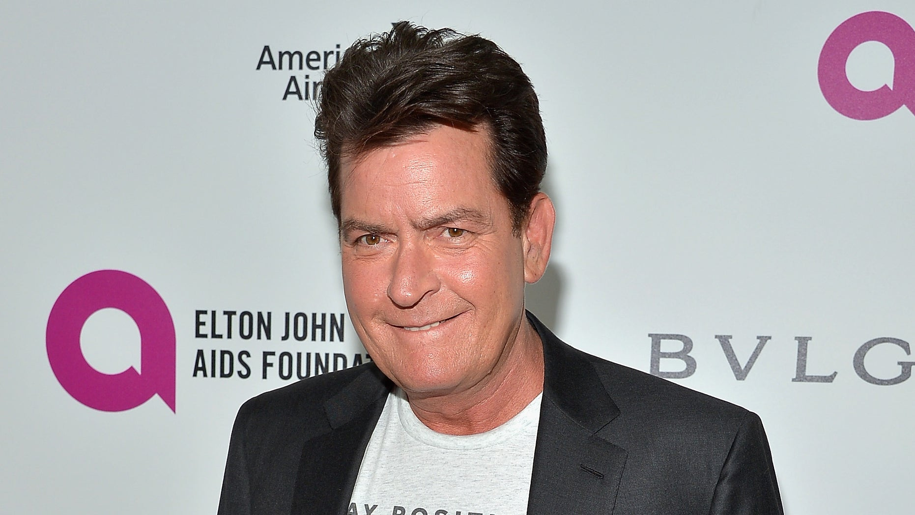 Charlie Sheen on February 28, 2016 in West Hollywood, California.