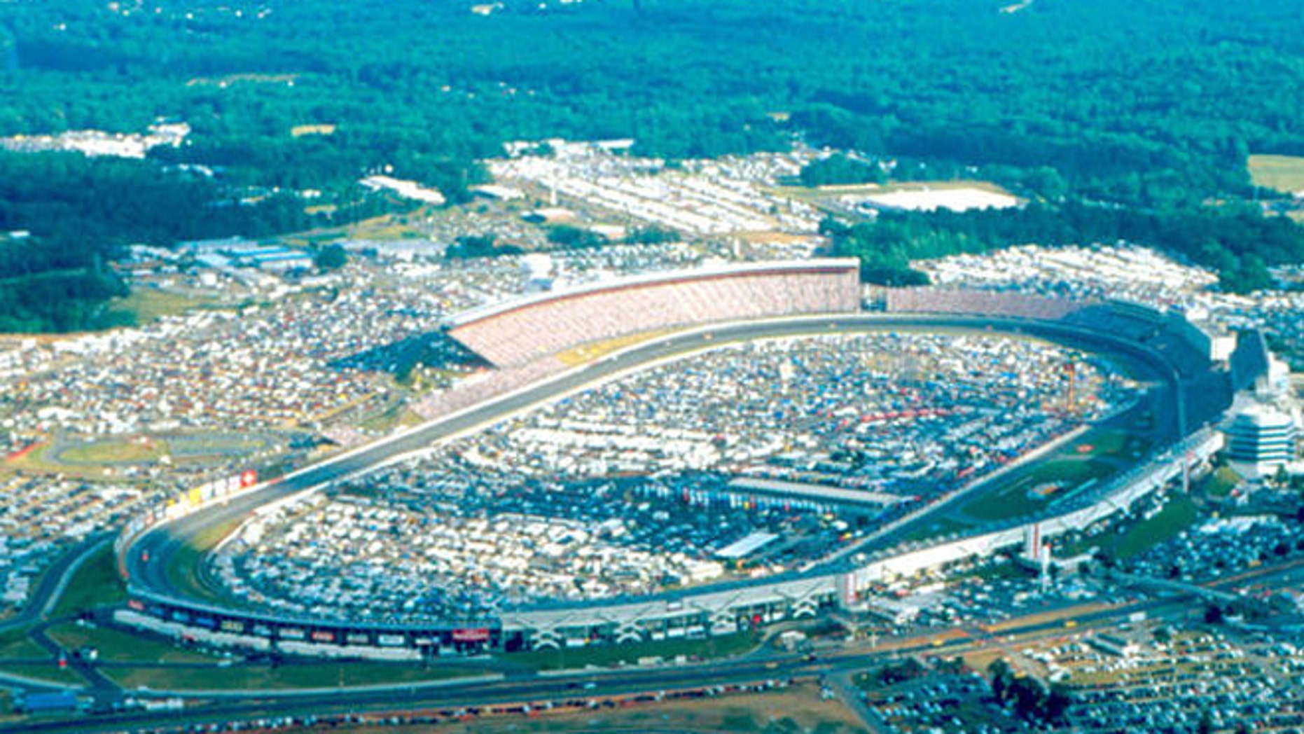 FILE: Charlotte Motor Speedway, outside Charlotte, N.C.