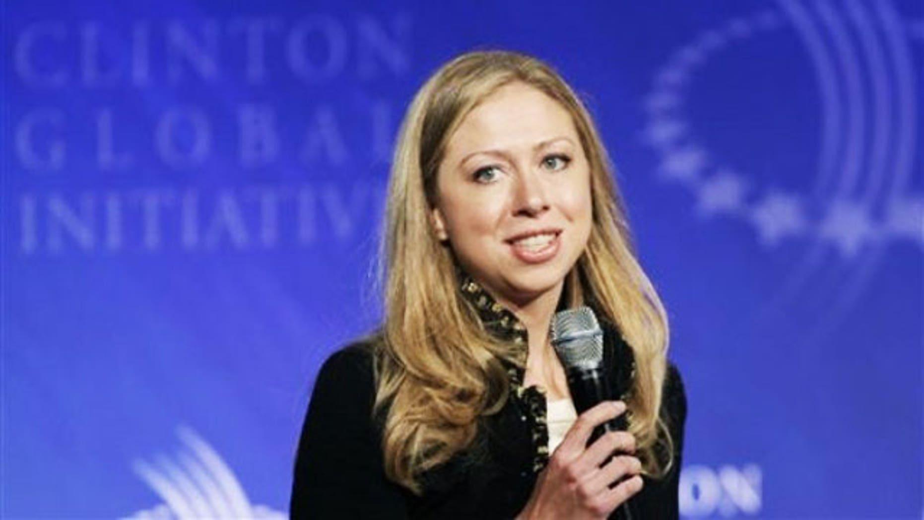Chelsea Clinton (REUTERS)