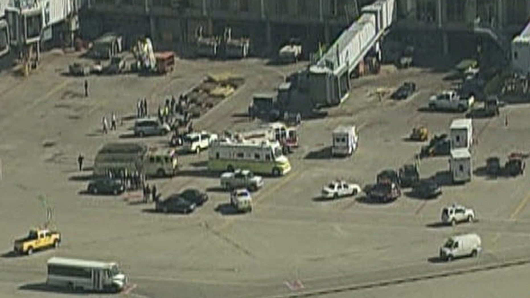 Nov. 1: Emergency crews respond to a Hazmat situation at O'Hare Airport.